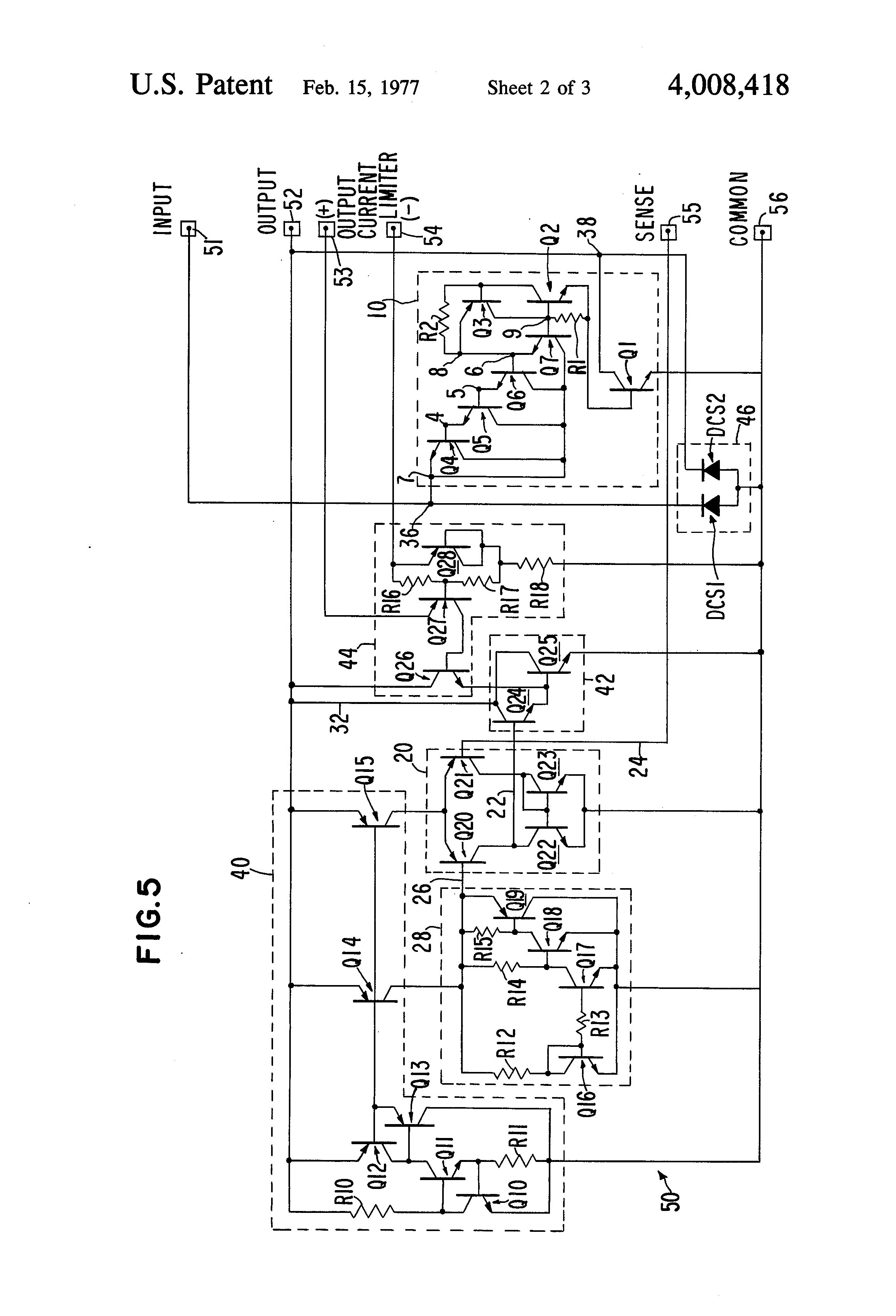 High Voltage Protection Circuit Diagram Delayed Pulse Generator Tradeoficcom Brevet Us4008418 Transient For