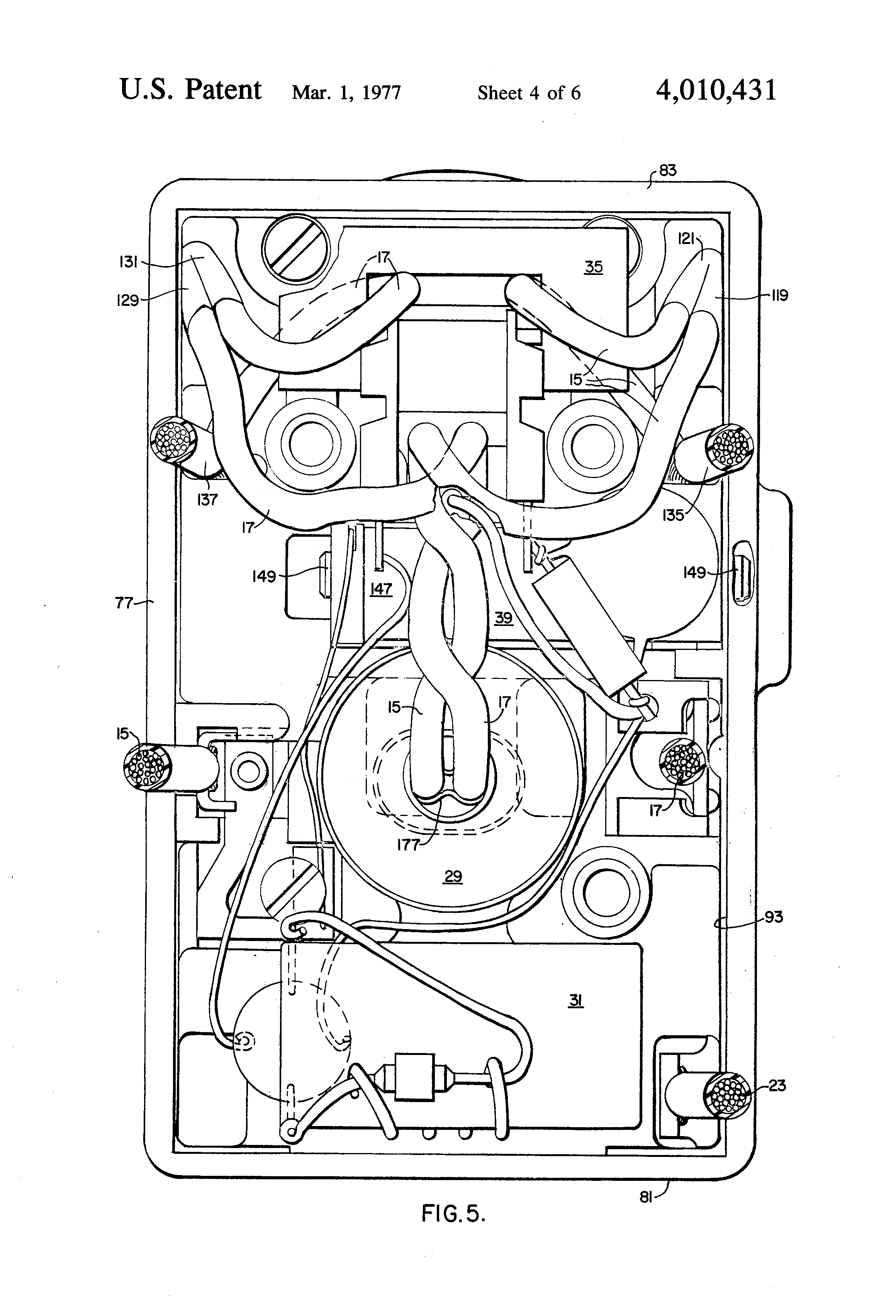 Patent Us4010431 - Switch For Electrical Wall Receptacle With Ground Fault Protection