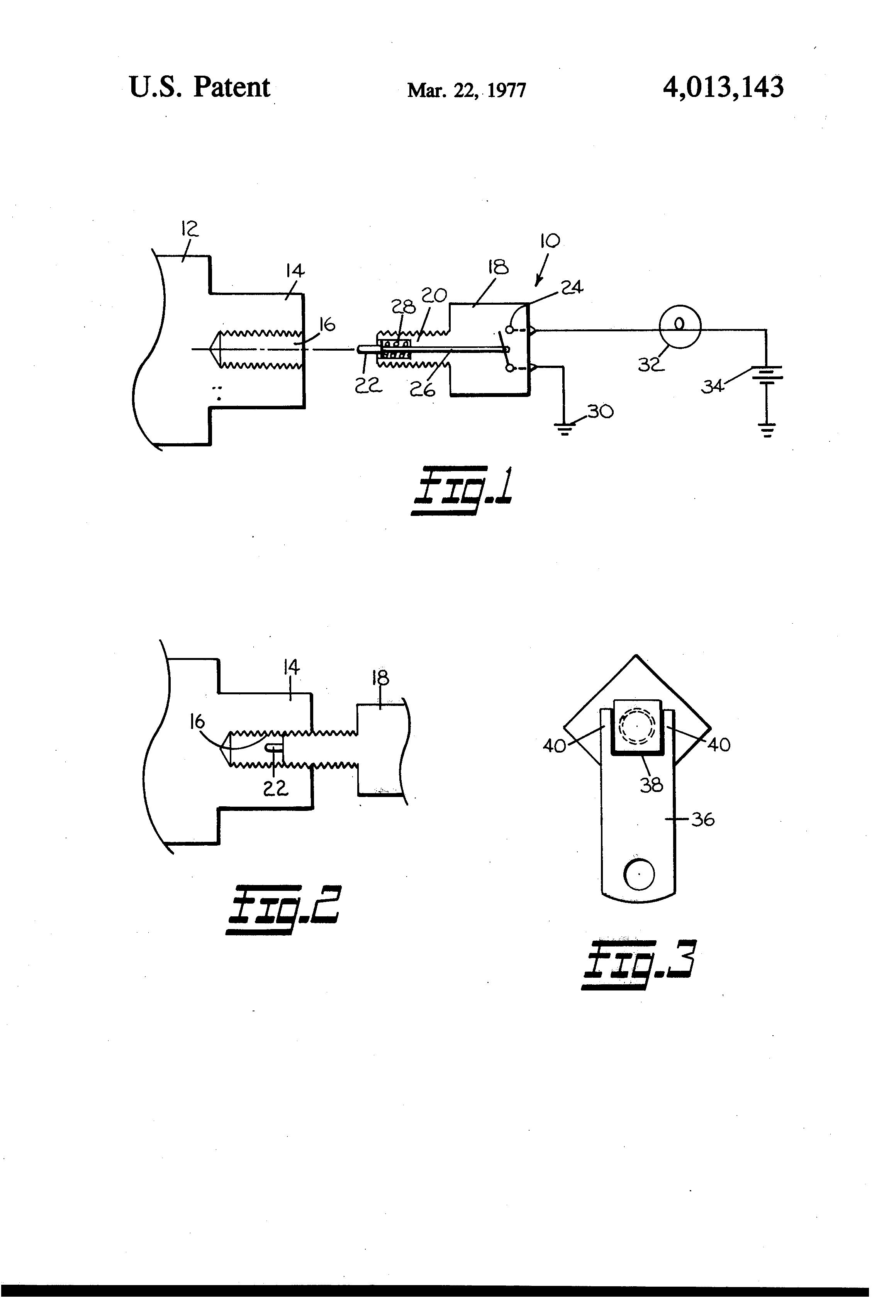 Brake Lining Draw : Patent us brake lining wear indicator google