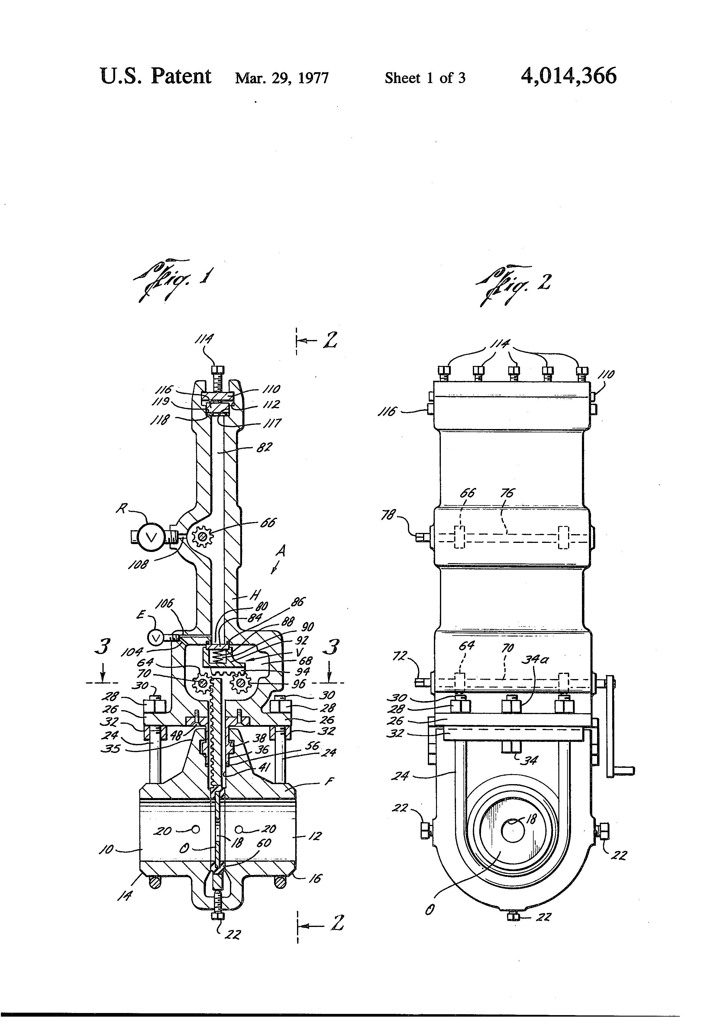 Patent us orifice fitting conversion apparatus