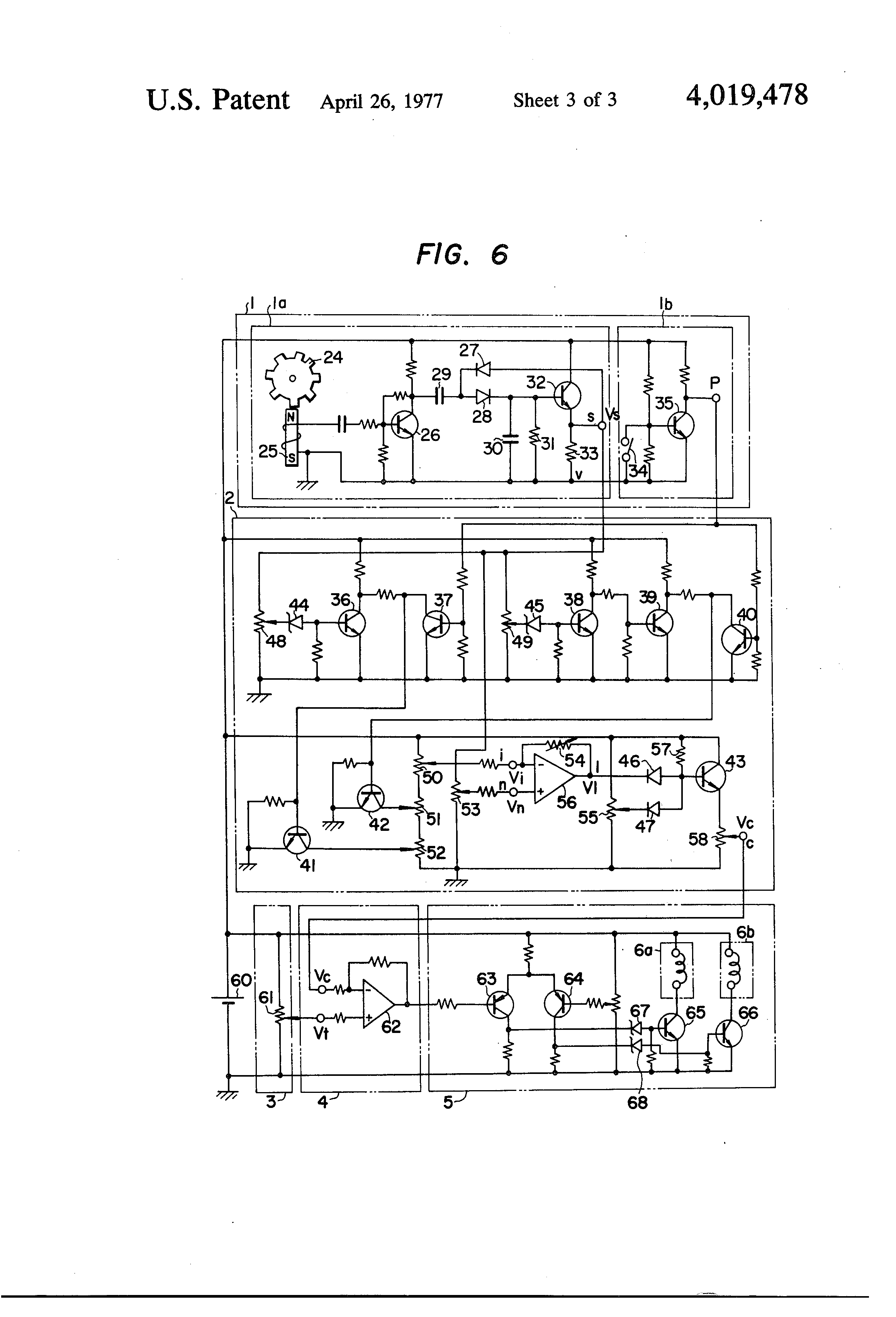 Patent Us4019478 Fuel Injection Timing Control System For Internal Combustion Engine Block Diagram The Diesel Has Drawing