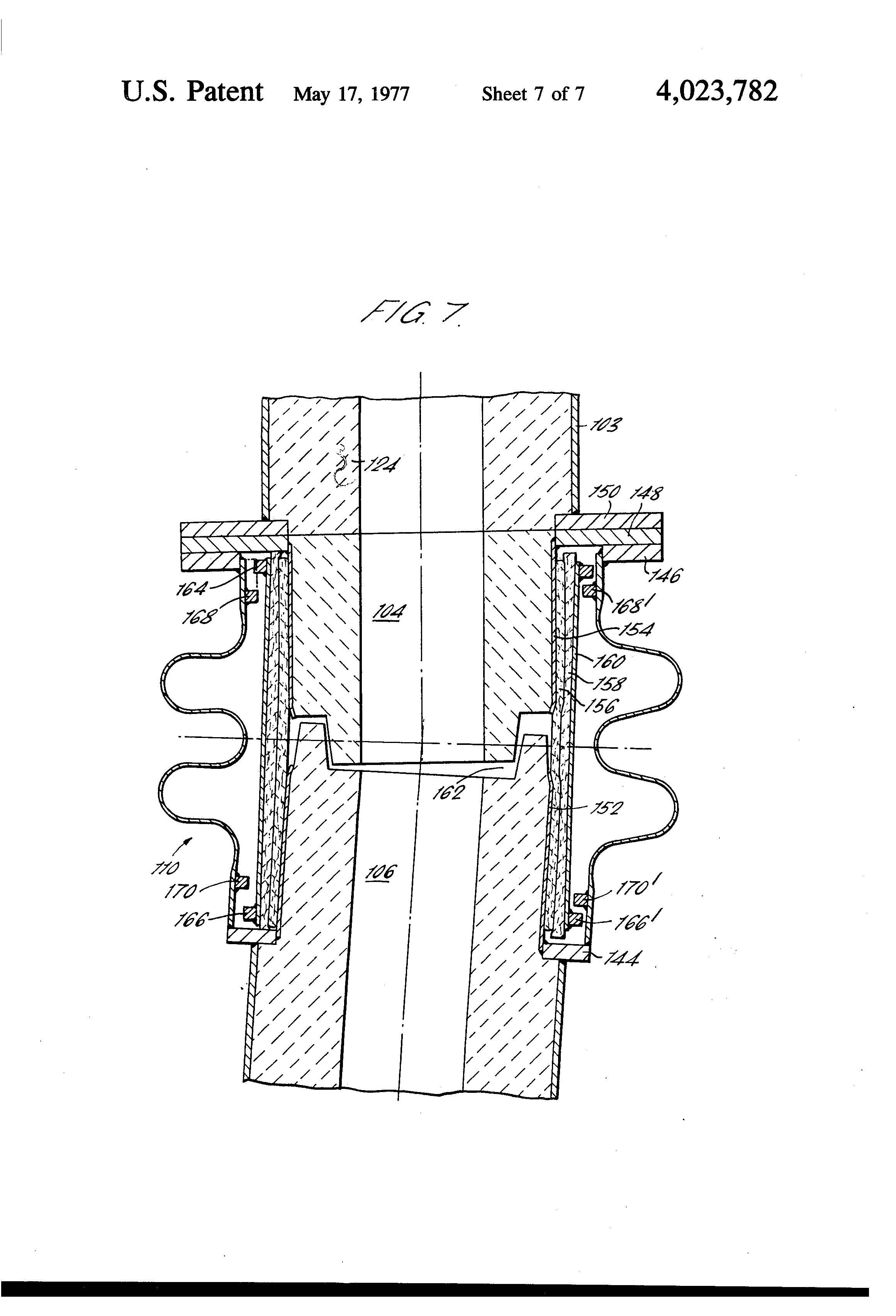 Patent us tuyere stock and compensator joint