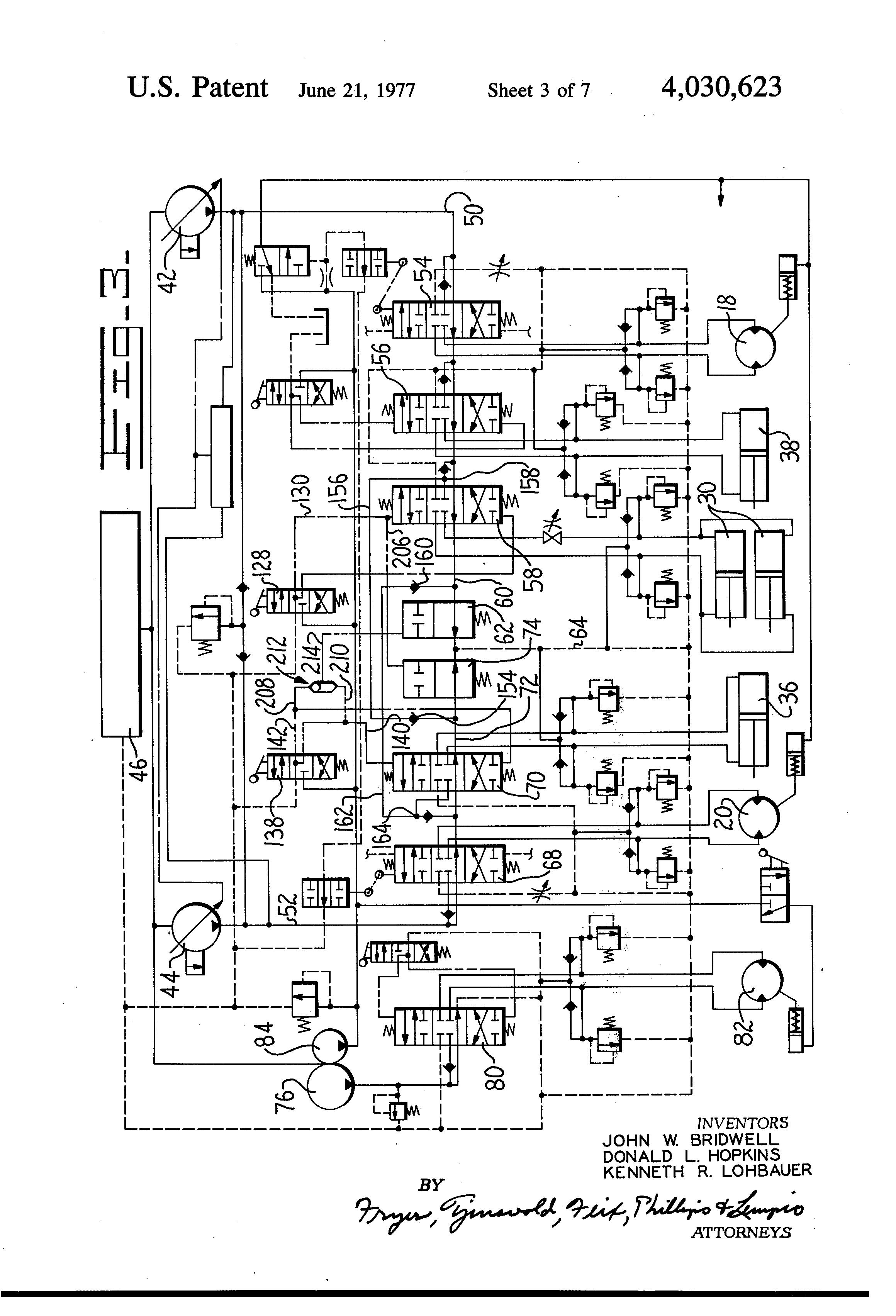 114 john deere hydraulic system diagram  114  tractor