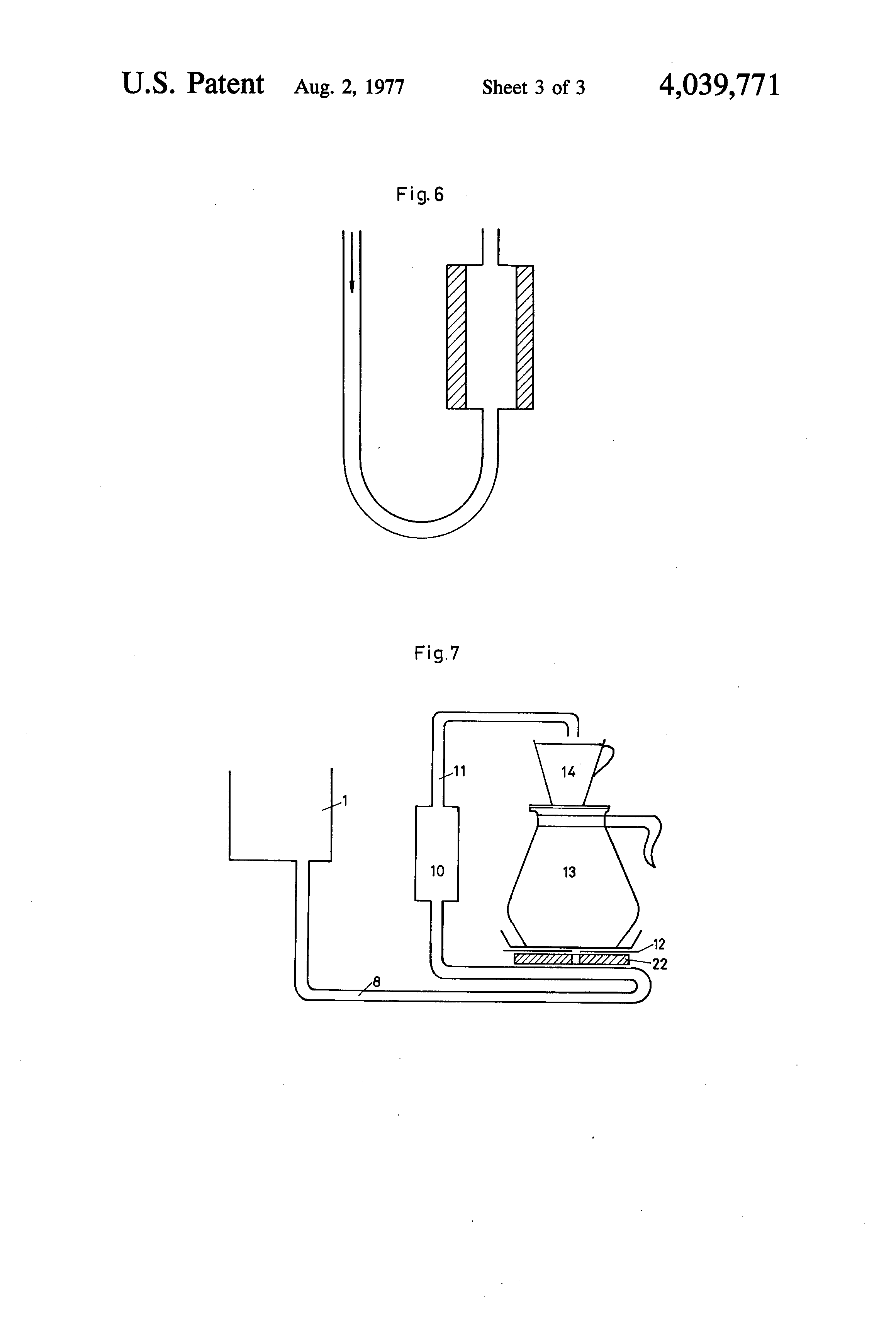 A Coffee Maker Contains A Heating Element That Has A Resistance Of : Brevet US4039771 - Coffee maker - Google Brevets