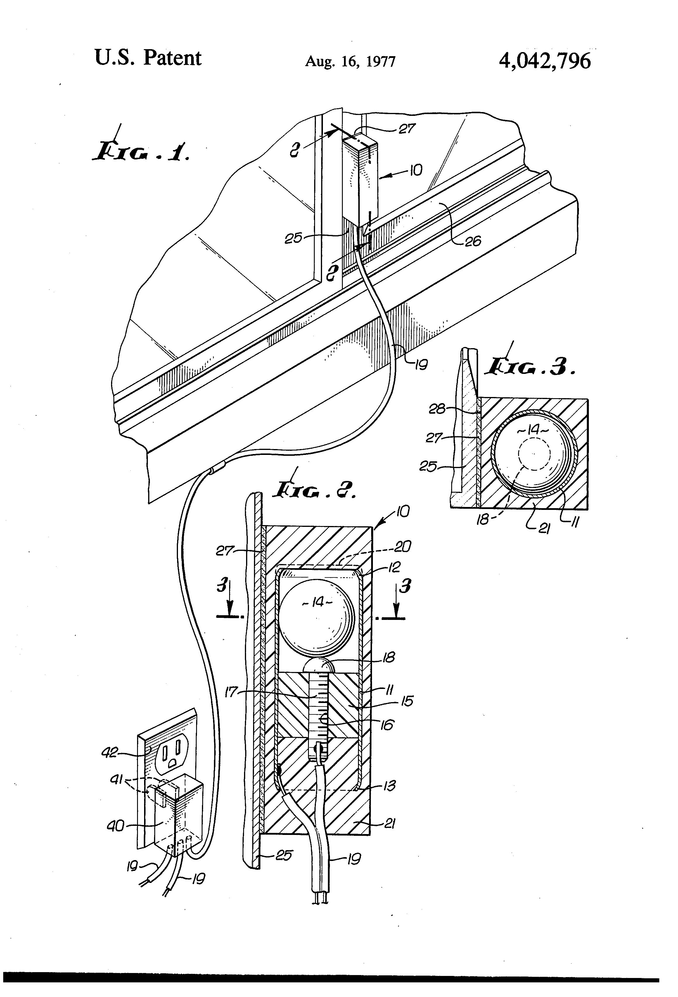 patent us4042796