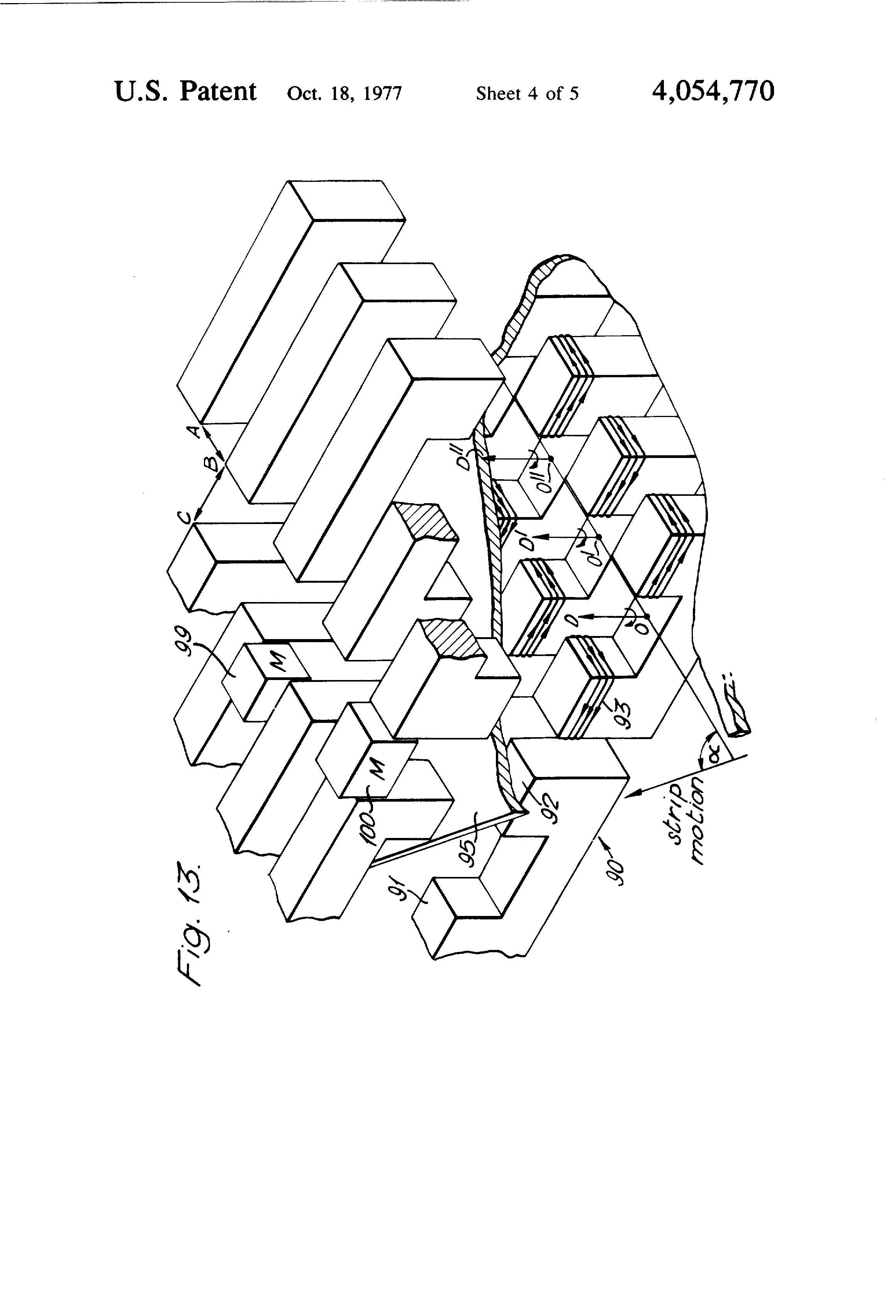 patent us4054770
