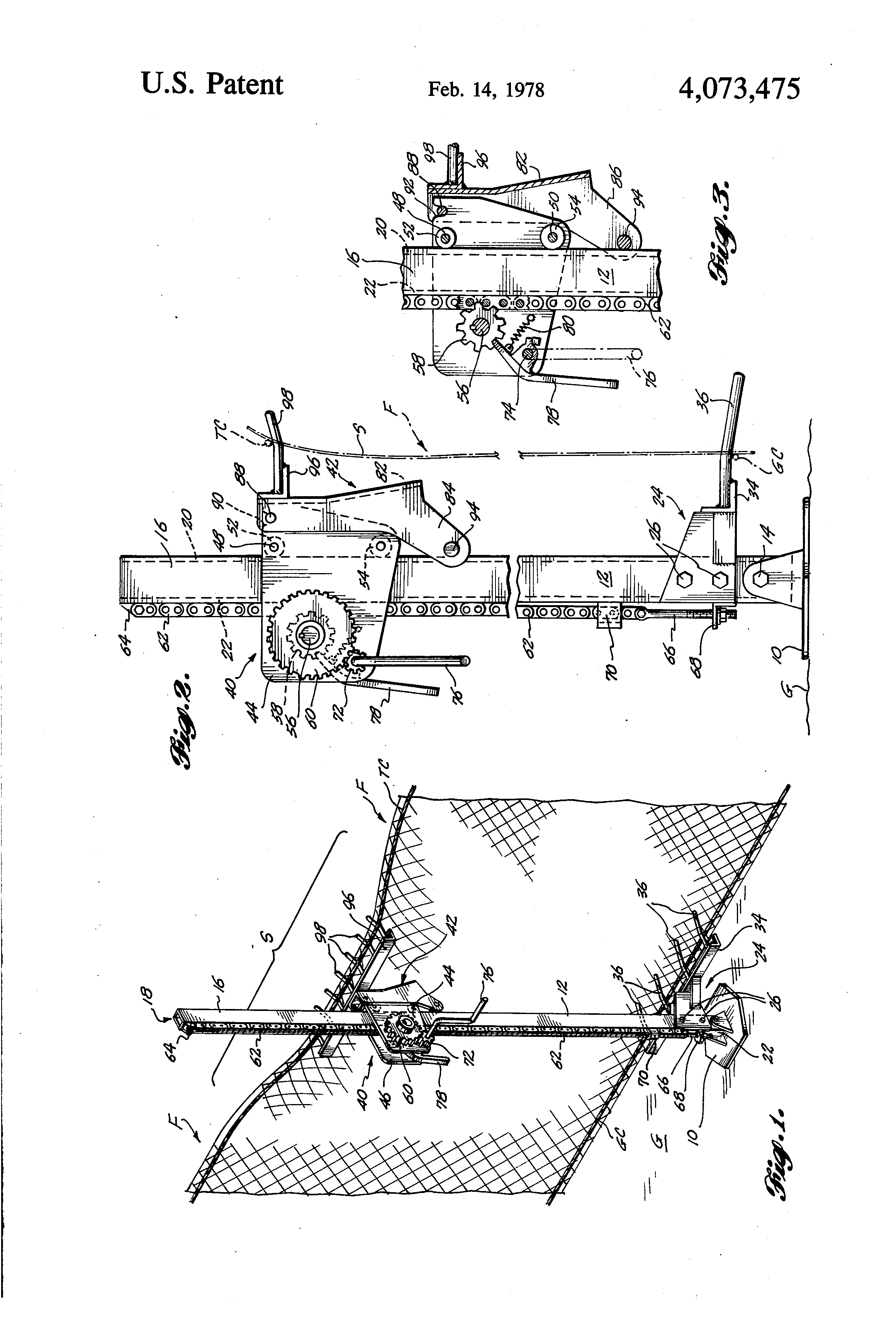 Privacy screen for chain link fence sears - Patent Drawing