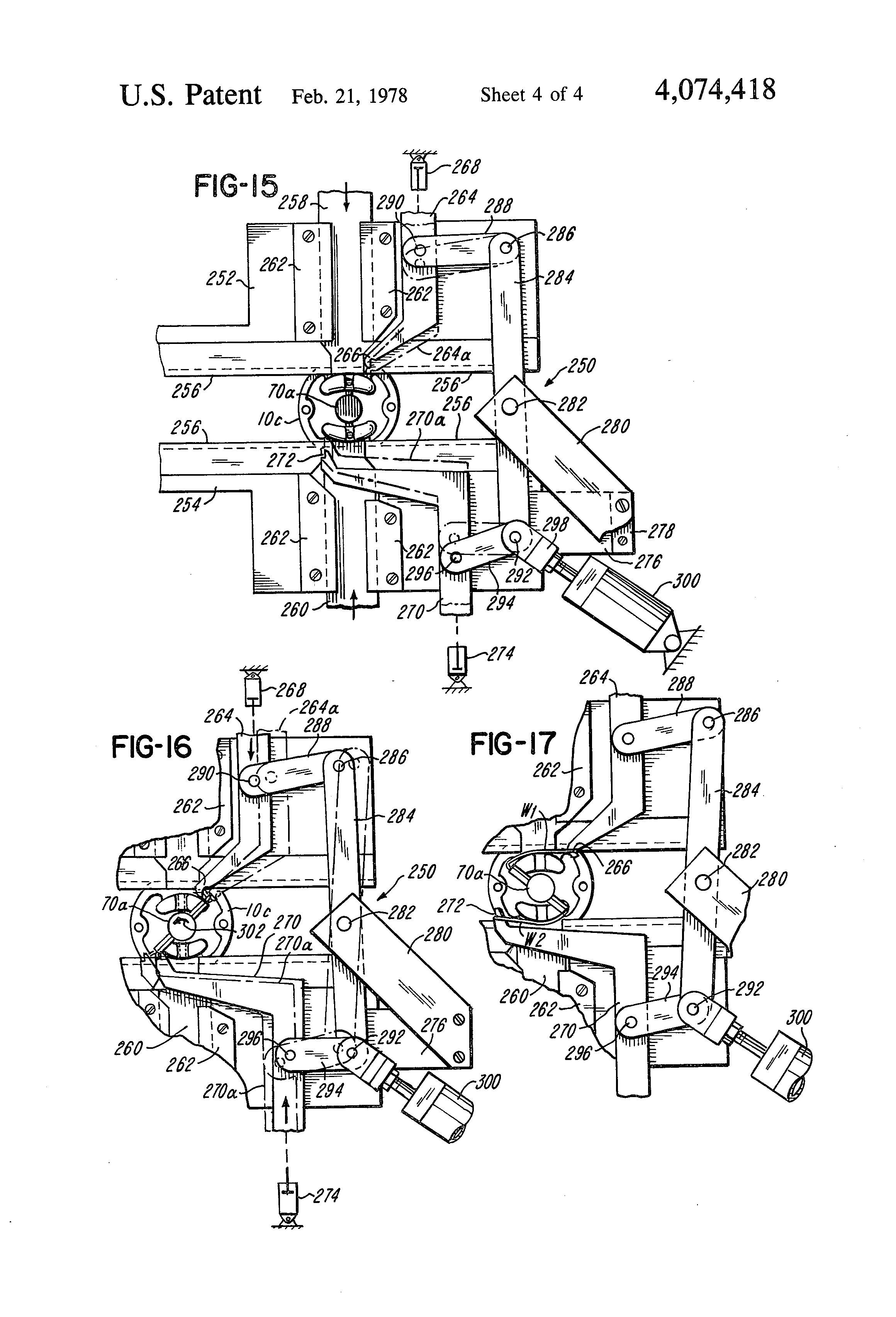 Patent US4074418 - Stator coil winding and lead wire connection ...