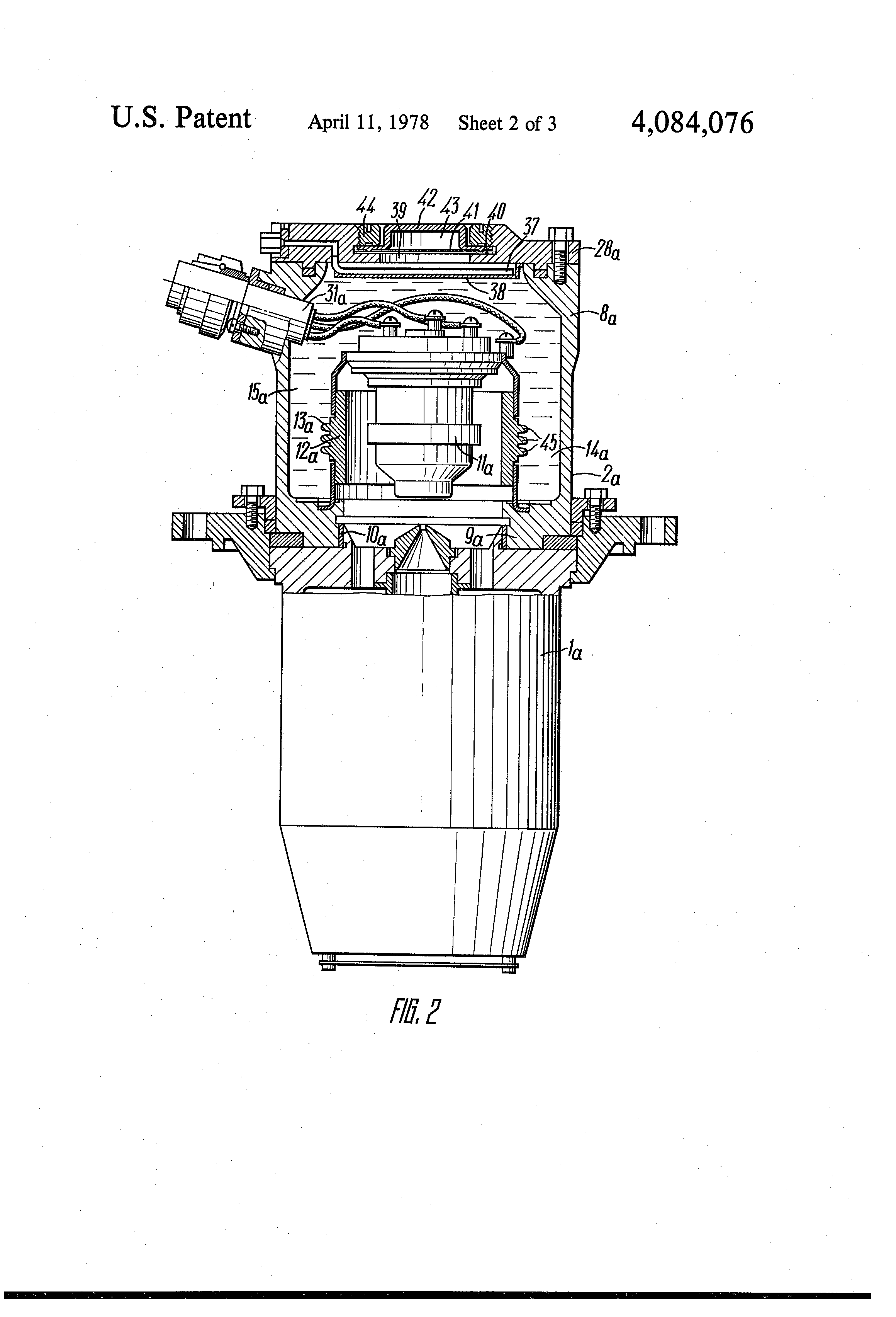 patent us4084076 - electron beam welding gun