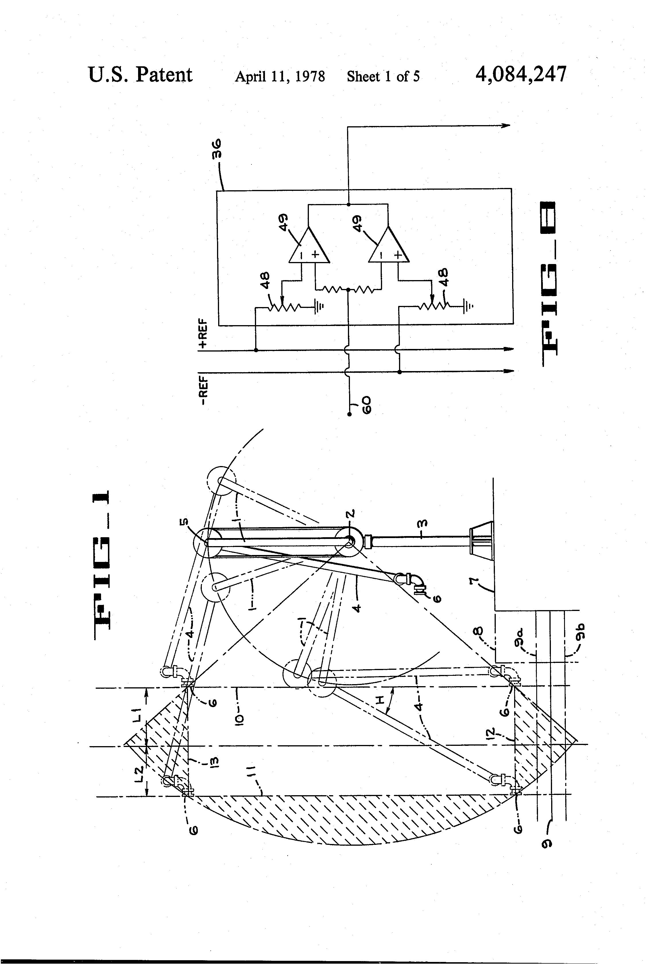 patent us4084247 - fluid loading arm alarm system