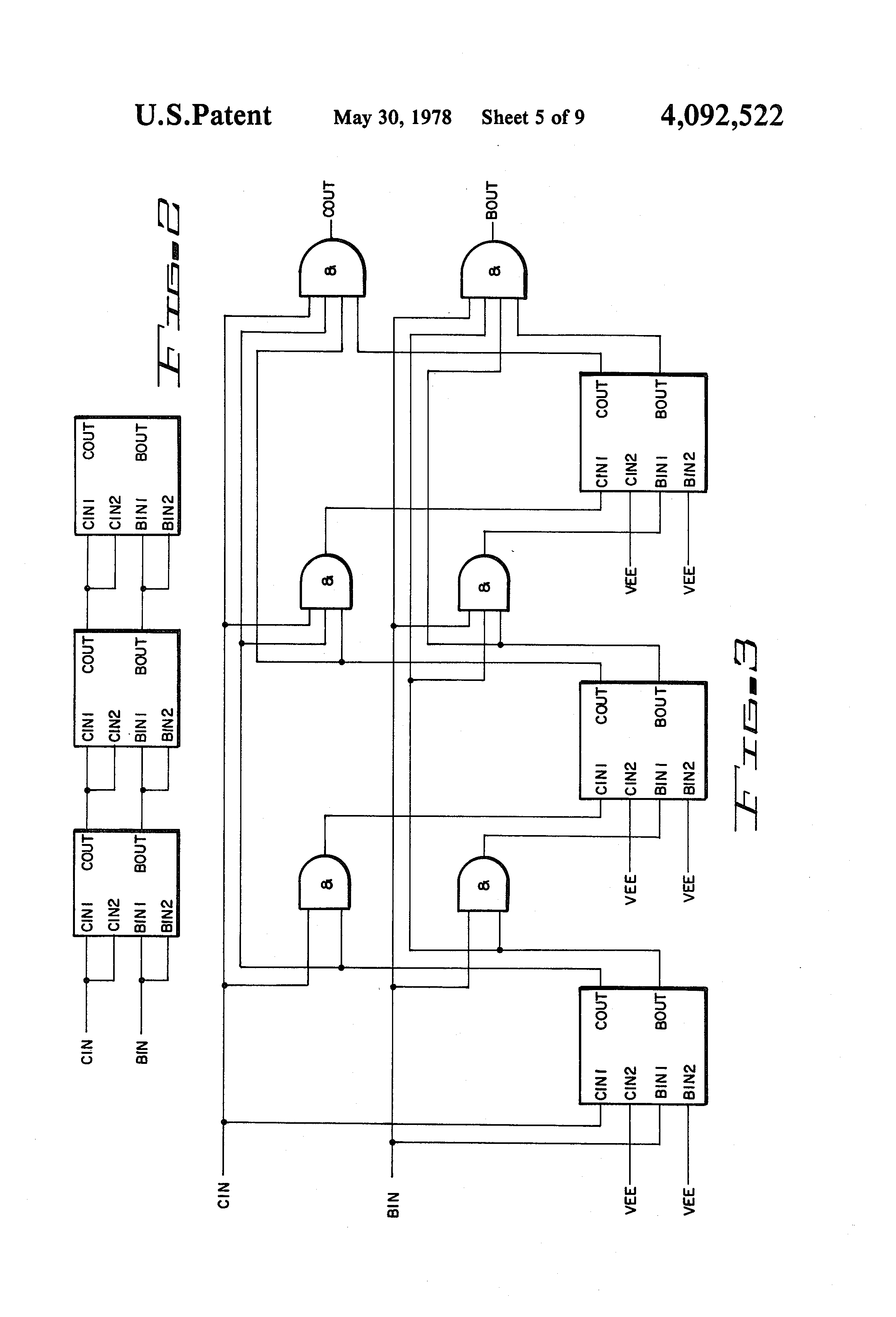 patent us4092522  shift register utilizing