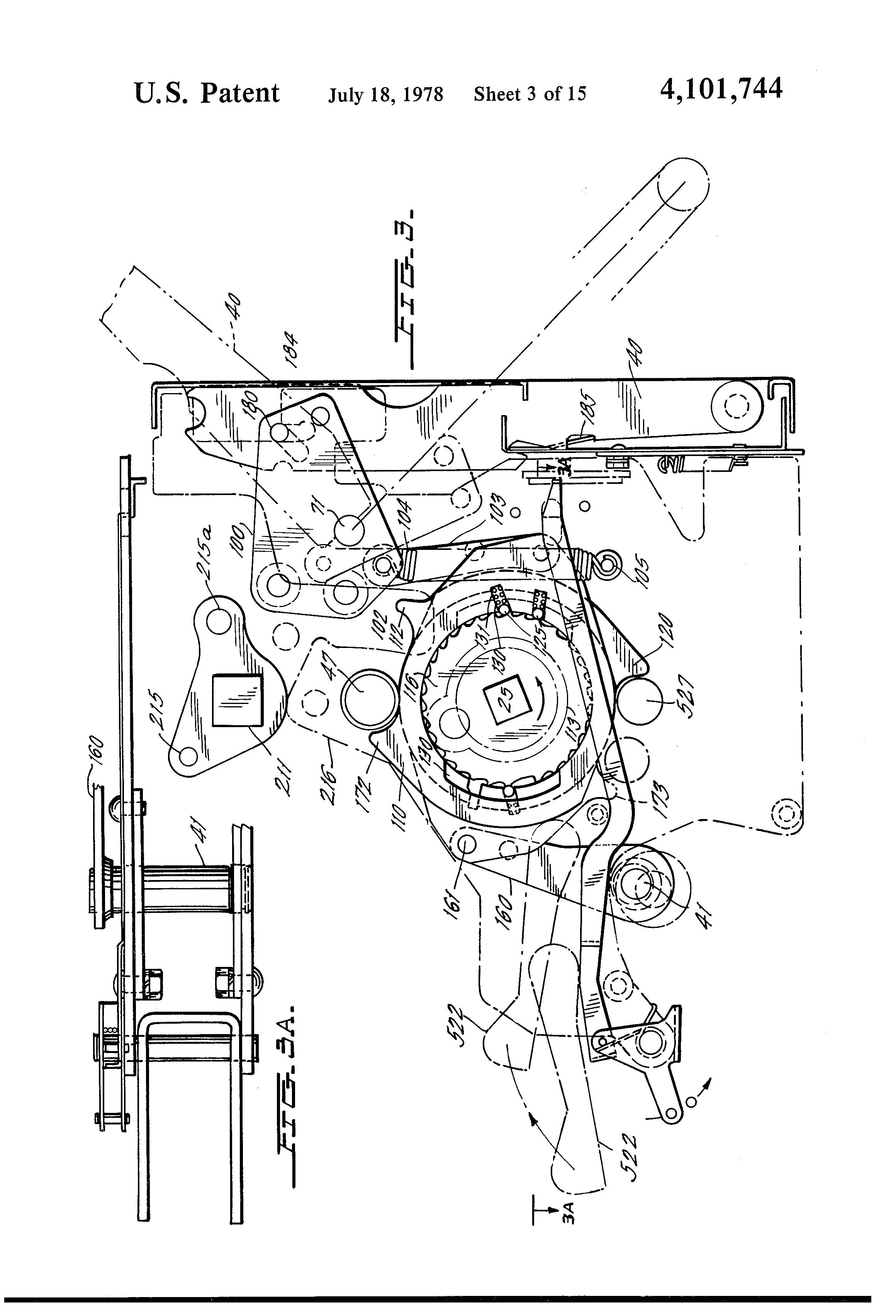 patent us4101744