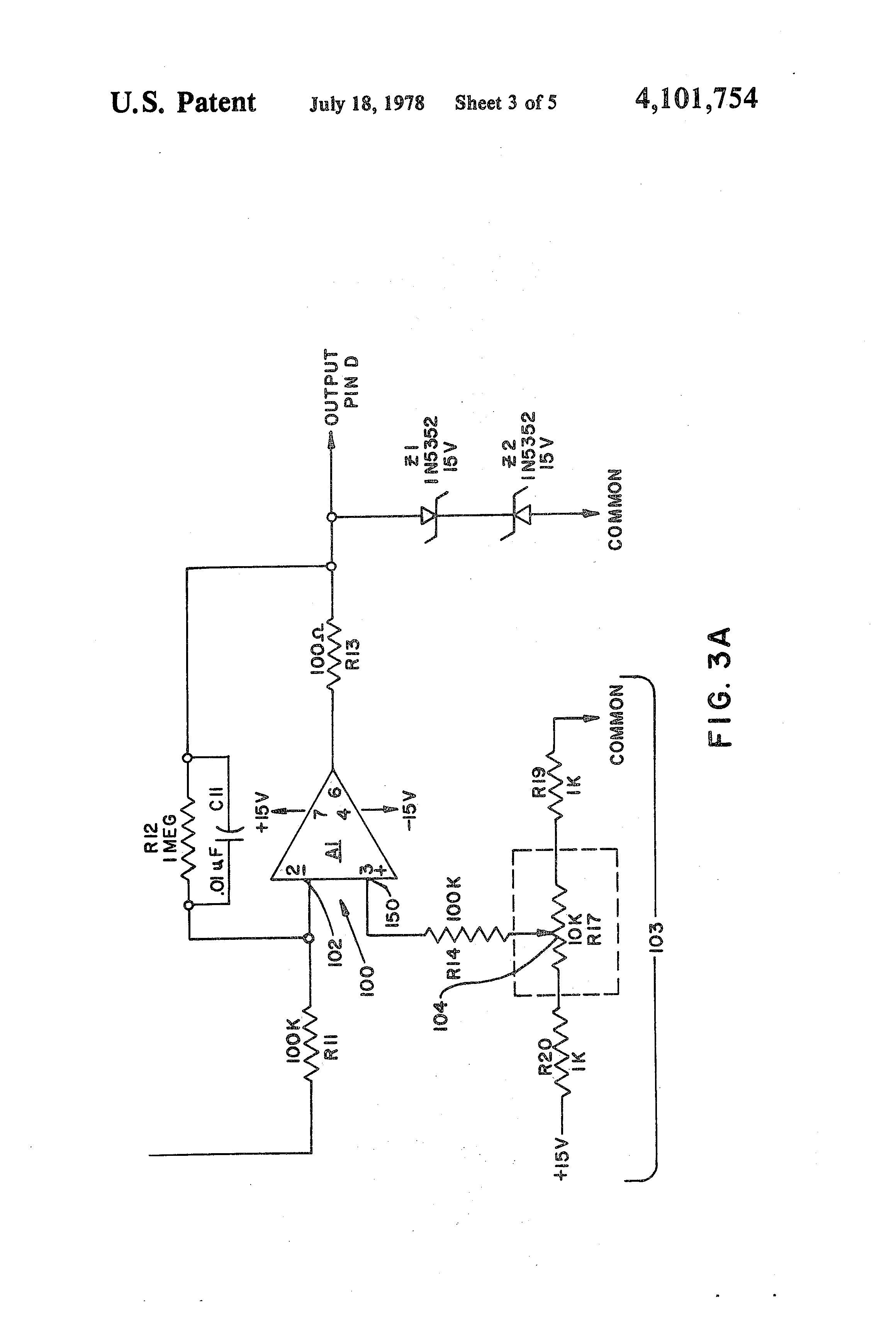 patent us4101754 - adjusting circuit for use in plasma arc cutting torch