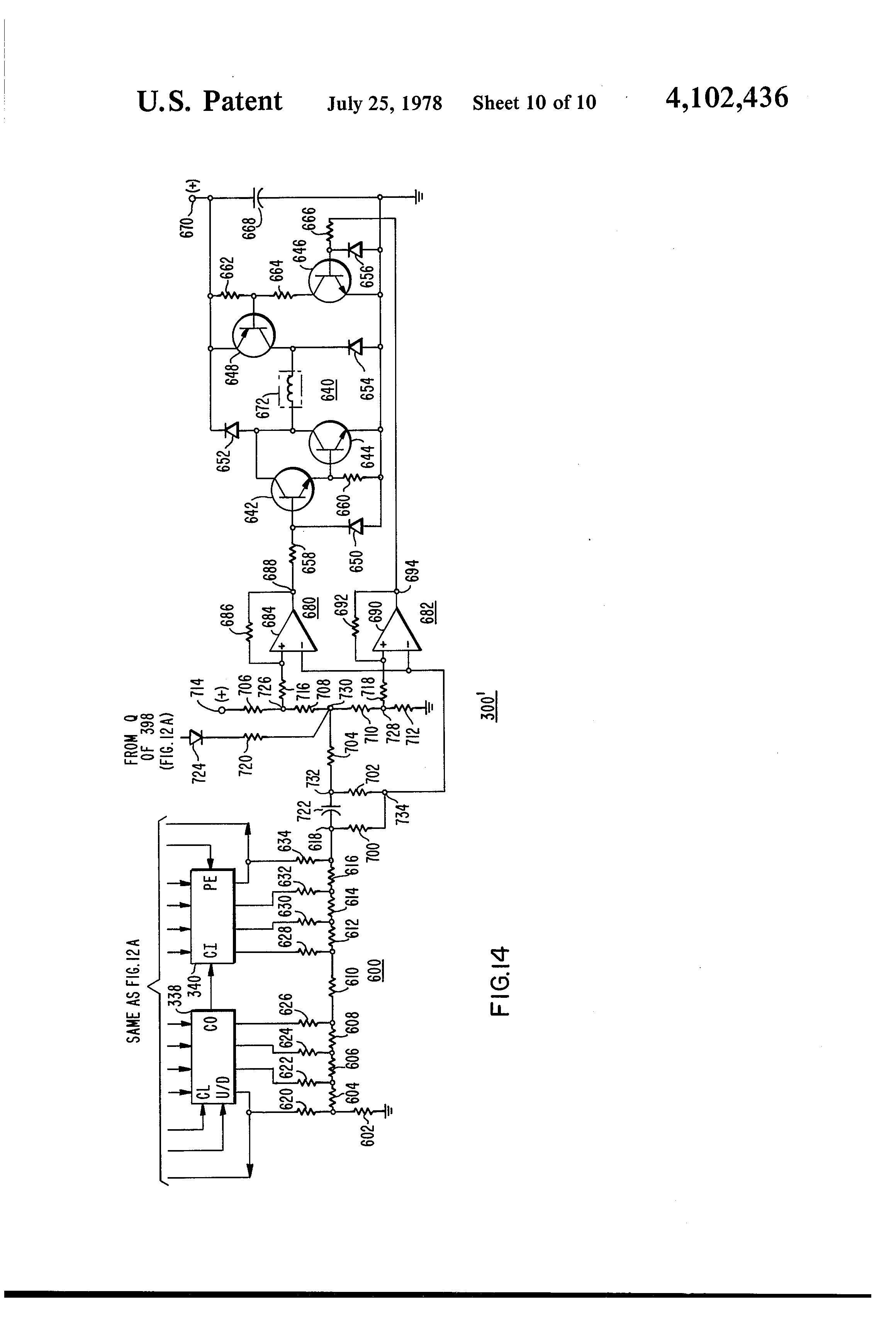 Patent Us4102436 Elevator System Google Patents Ladder Logic Diagram For Drawing