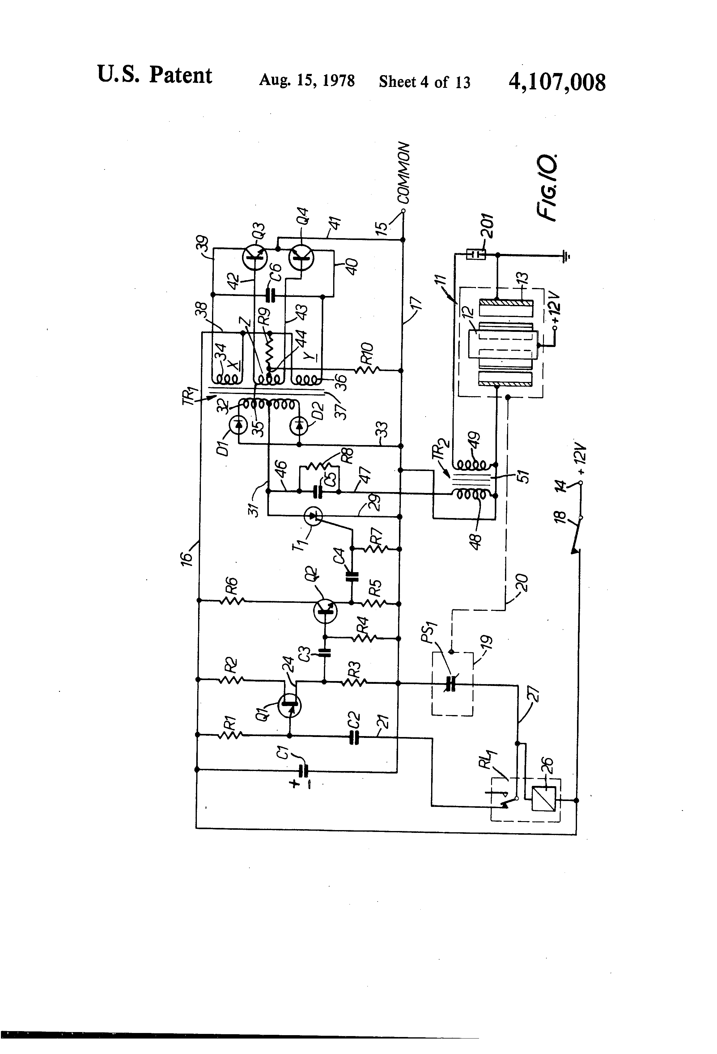 patent us4107008 electrolysis method for producing hydrogen and