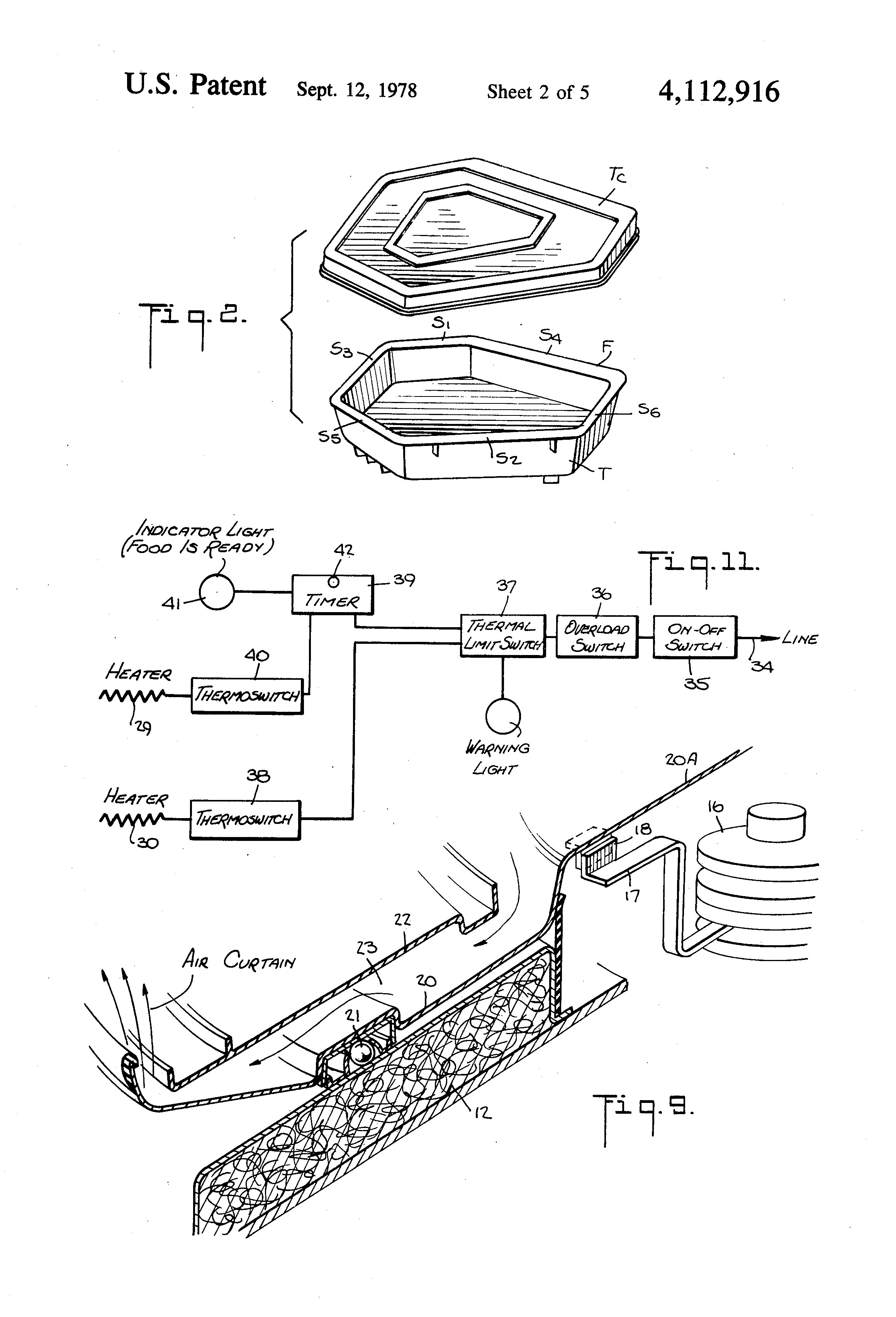 Patent Drawing  Labelled Diagram Of Hot Air Oven