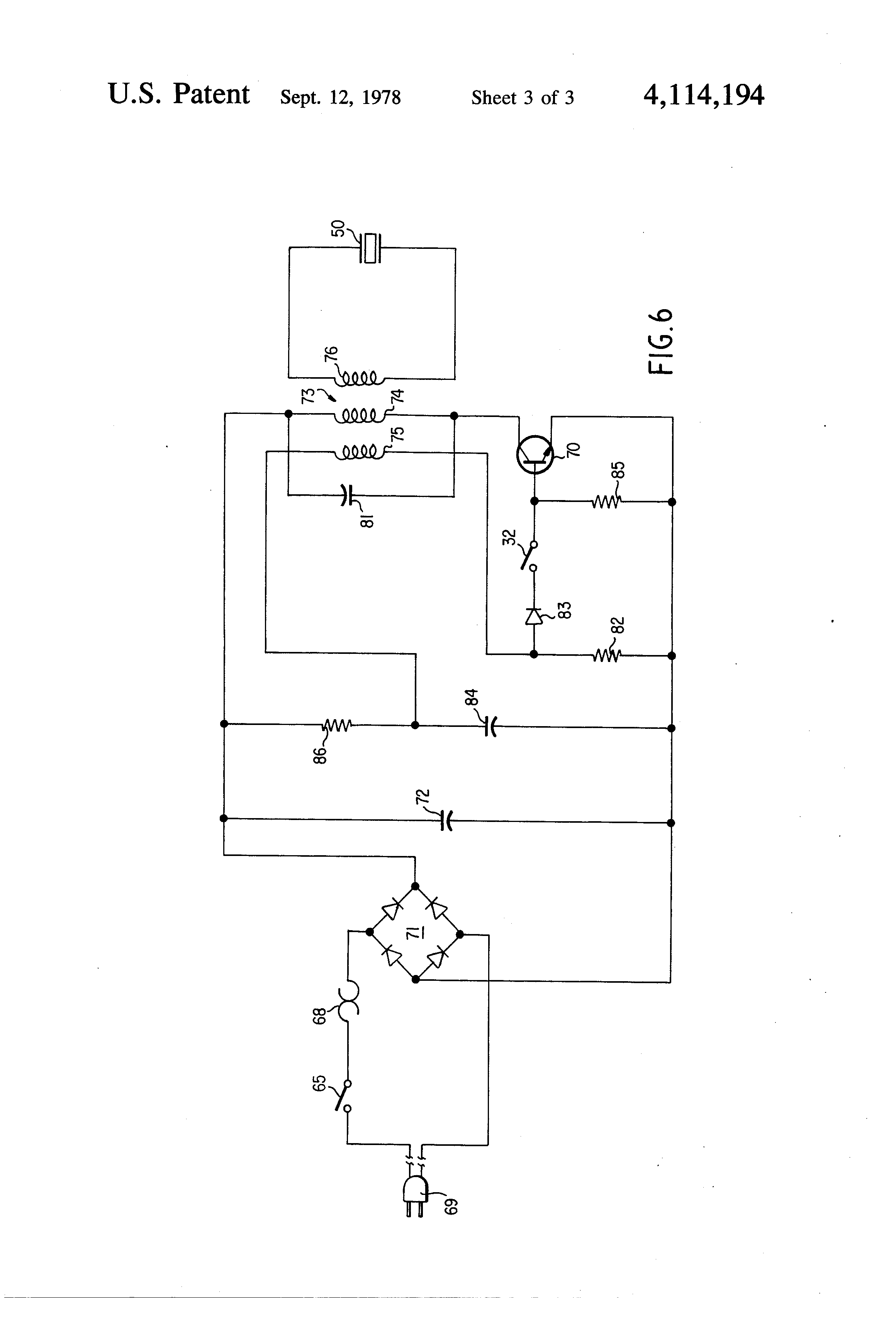 Ultrasonic Cleaner Circuit Diagram | Oscillatory Circuit For Ultrasonic Cleaning Apparatus Google Patents