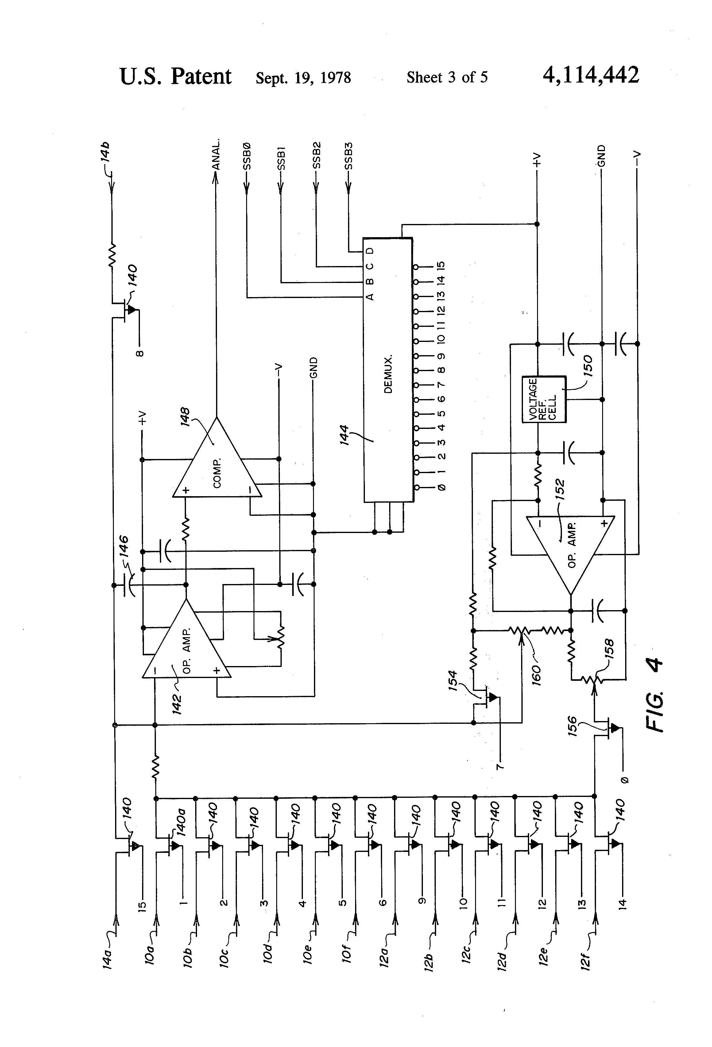 patent us4114442 - temperature monitoring system