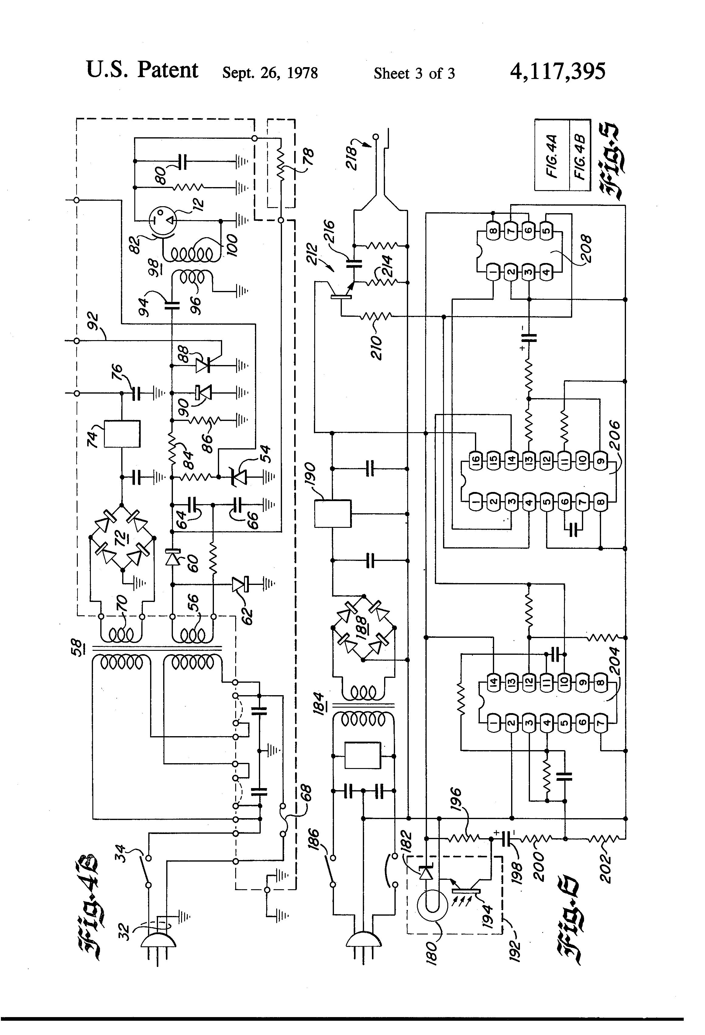 Patent Us4117395 Digital Stroboscope Tachometer Google Patents Circuit With Single Transistor Drawing