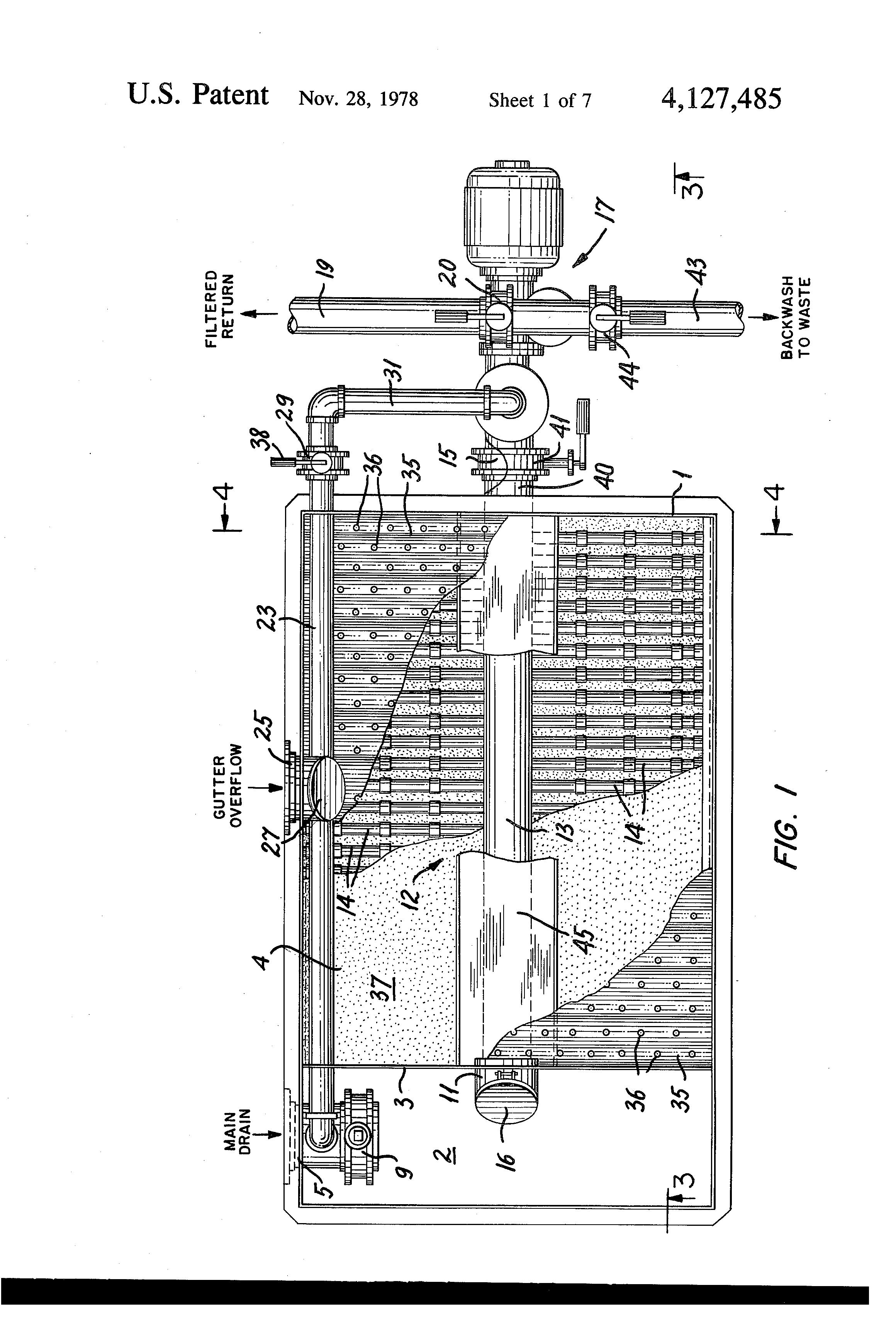 Patent Us4127485 Vacuum Filter For Swimming Pools Google Patents
