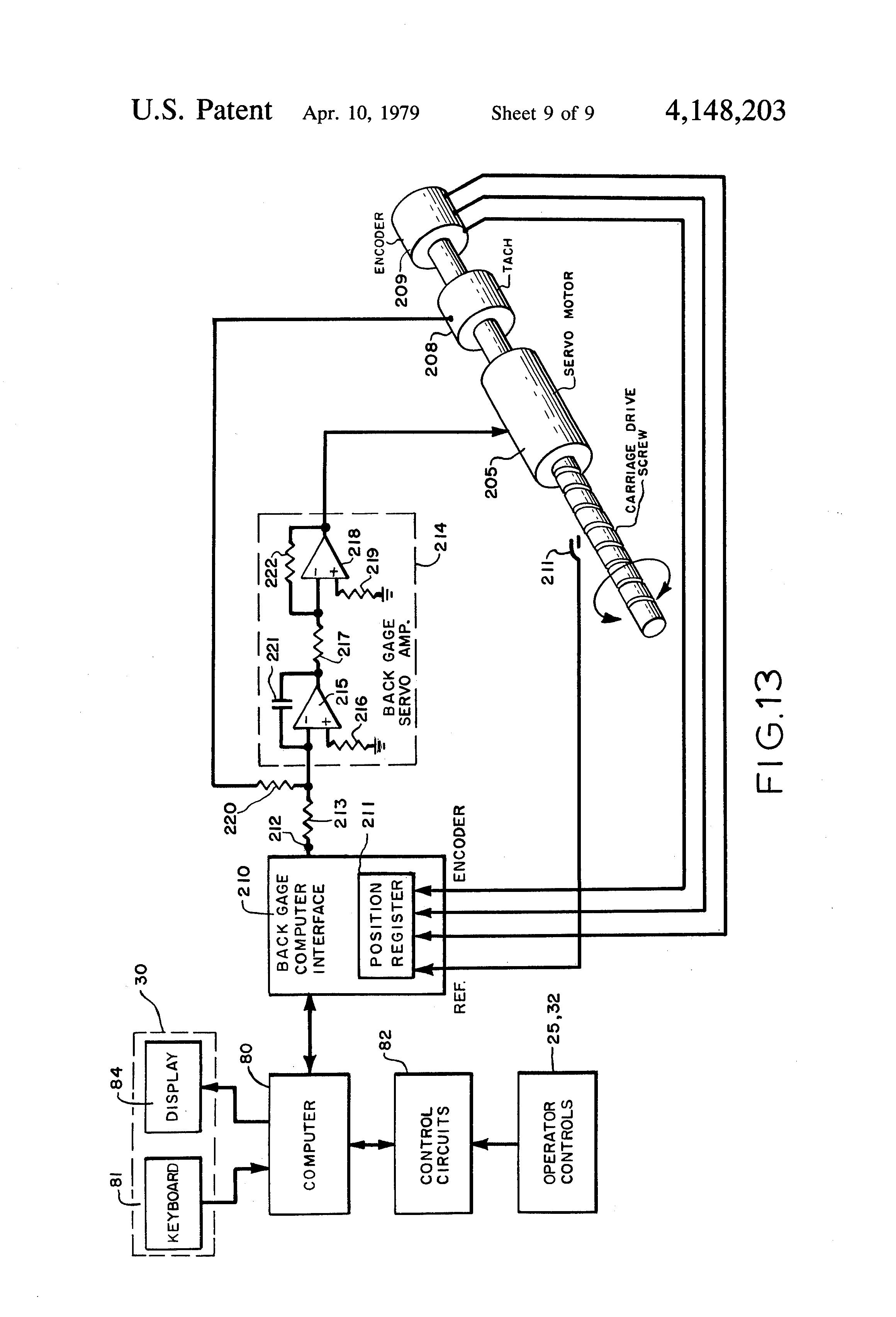 patent us4148203 - computer-controlled press brake