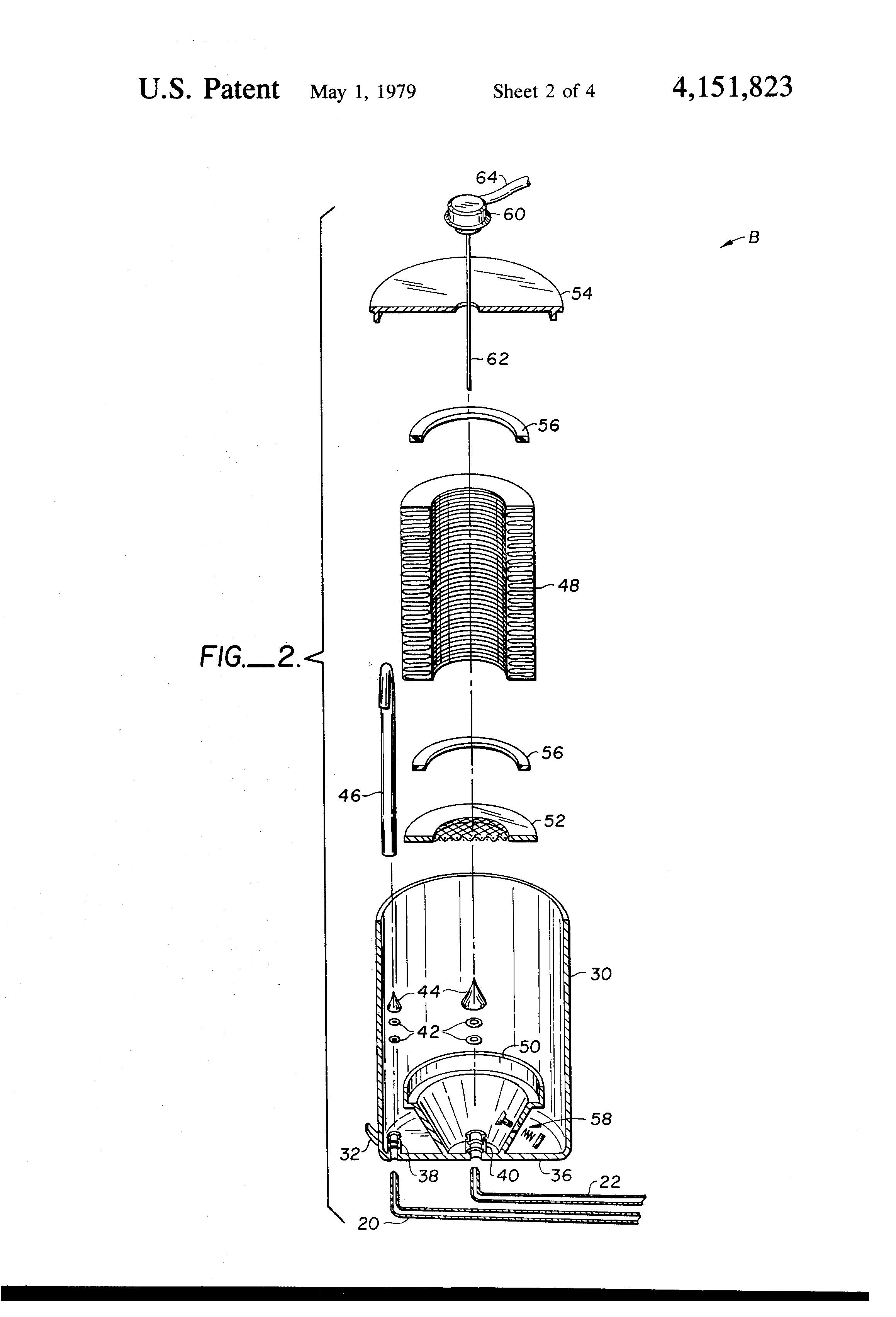 patent us4151823  reservoir