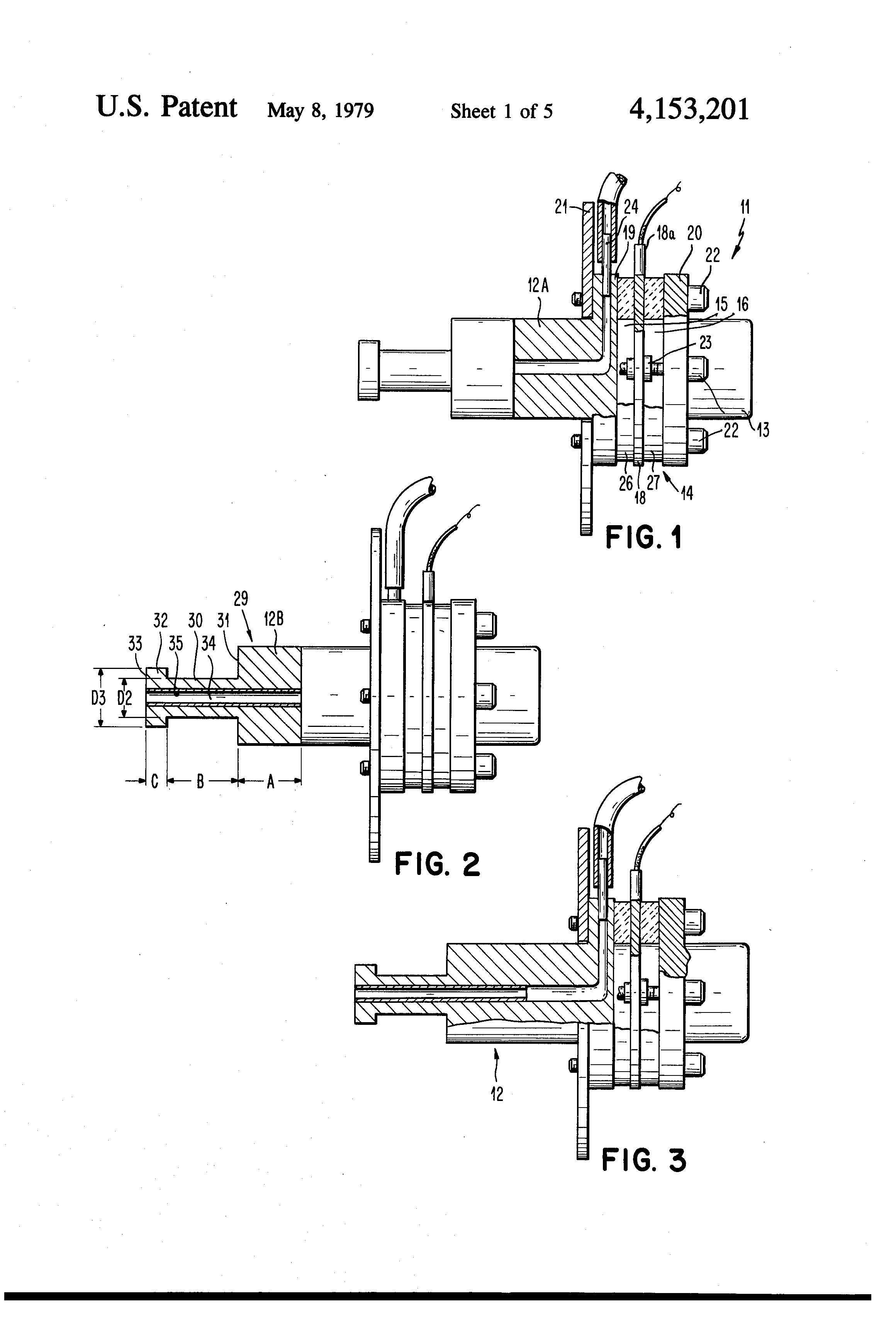 patent us4153201 - transducer assembly  ultrasonic atomizer and fuel burner