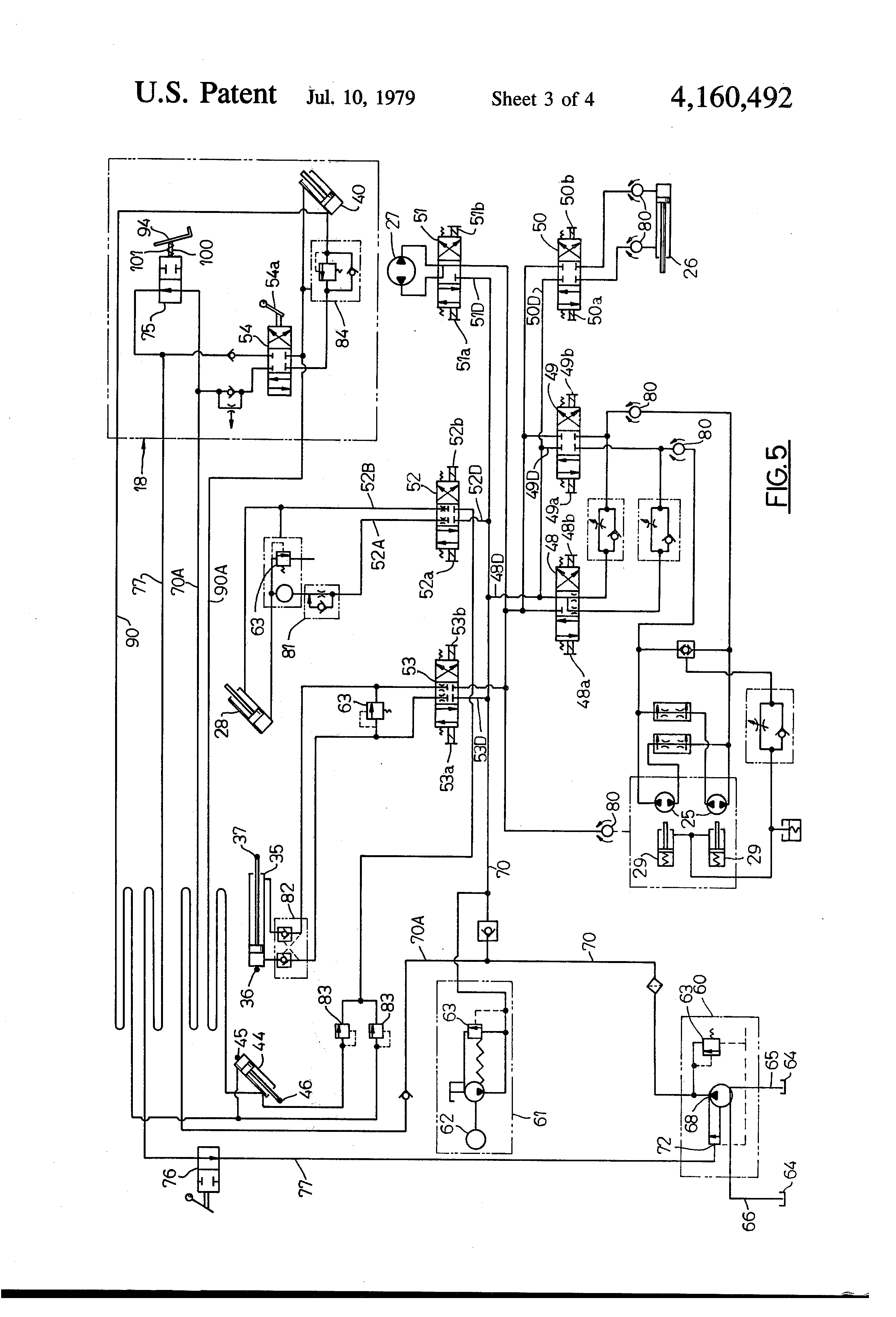 US4160492 3 patent us4160492 control system for mobile self propelled aerial snorkel lift 41e wiring diagram at mifinder.co