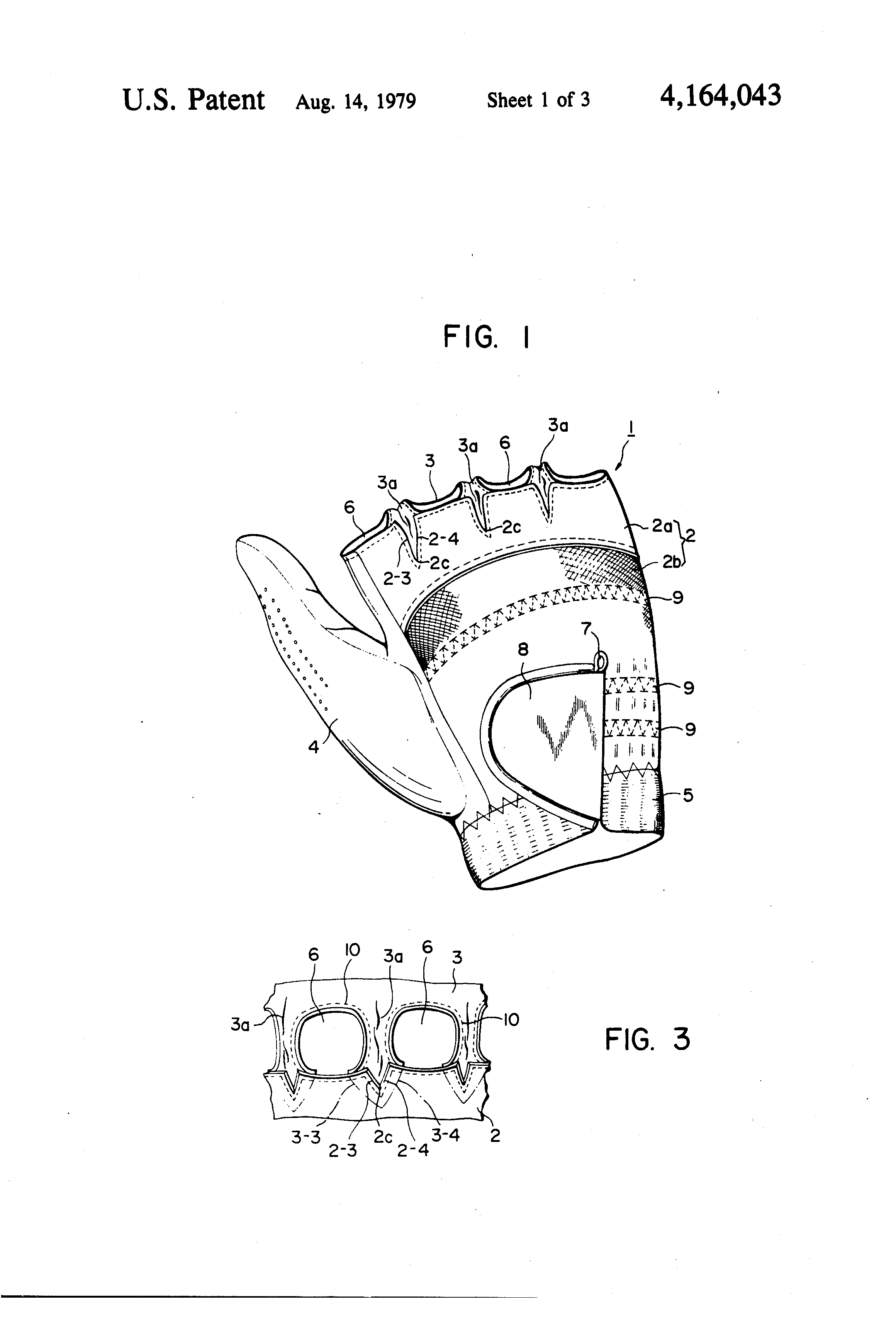 Fingerless gloves for drawing - Patent Drawing