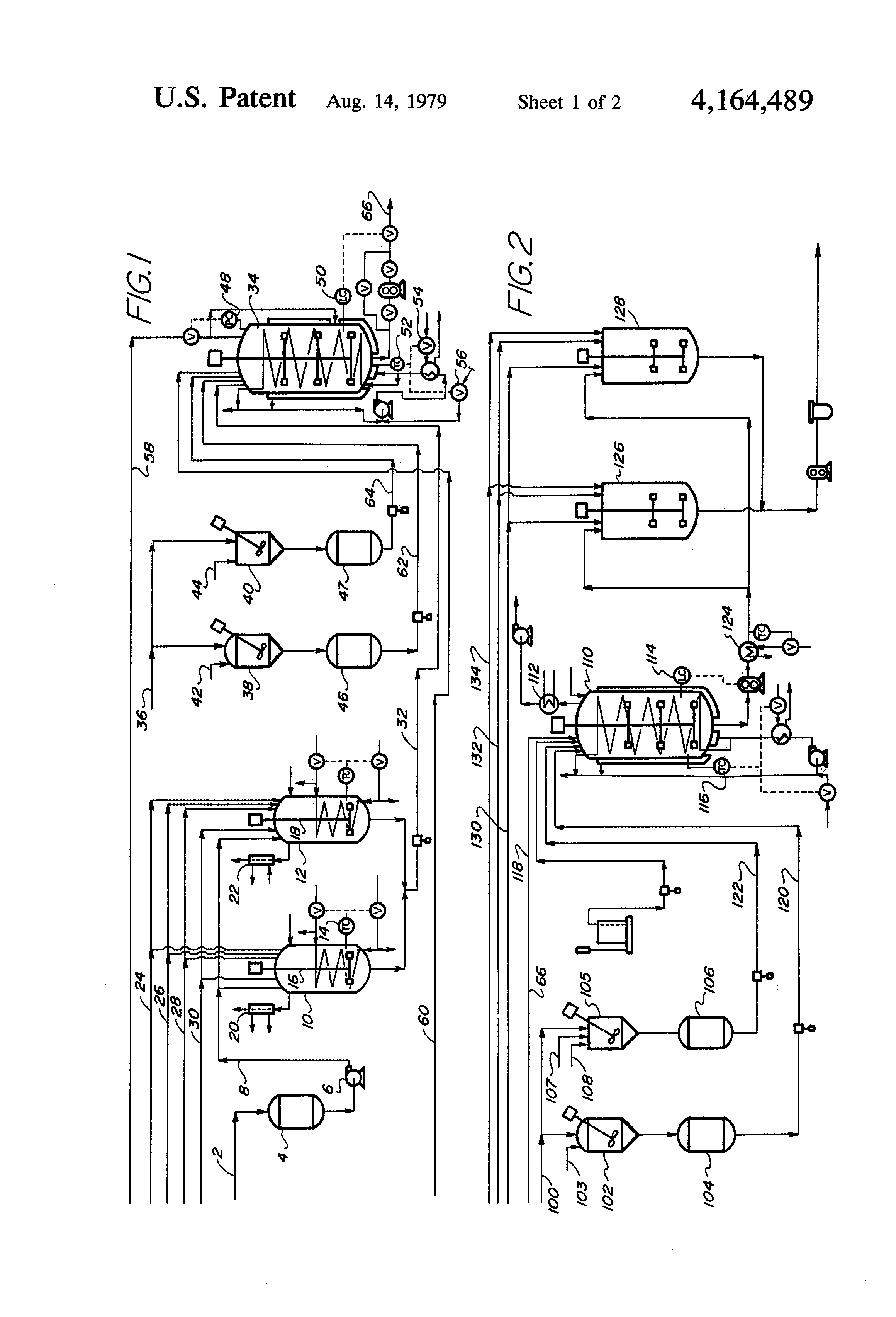 Patent Us4164489 Continuous Emulsion Polymerization Of