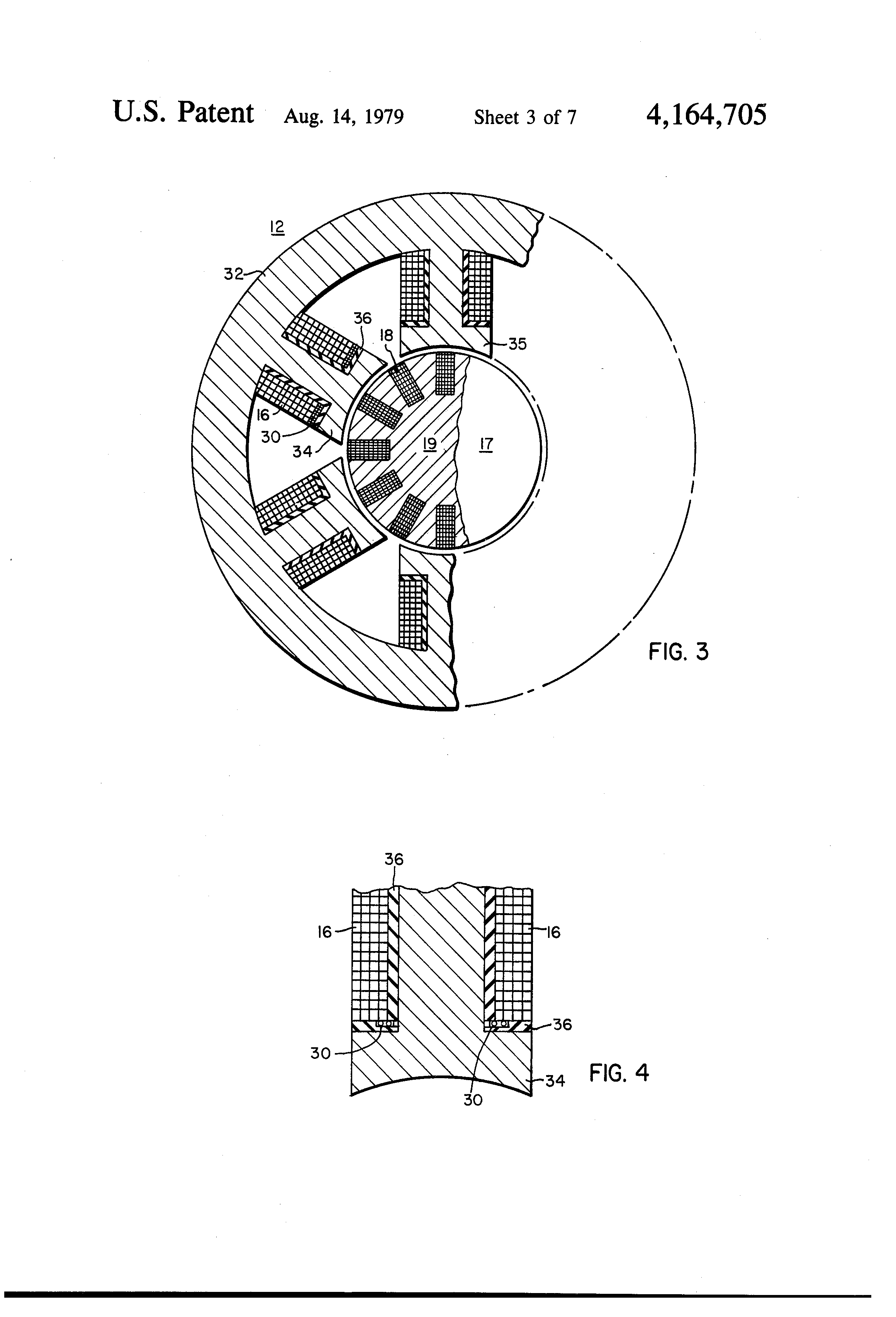 patent us4164705 - brushless exciter fault indicator system