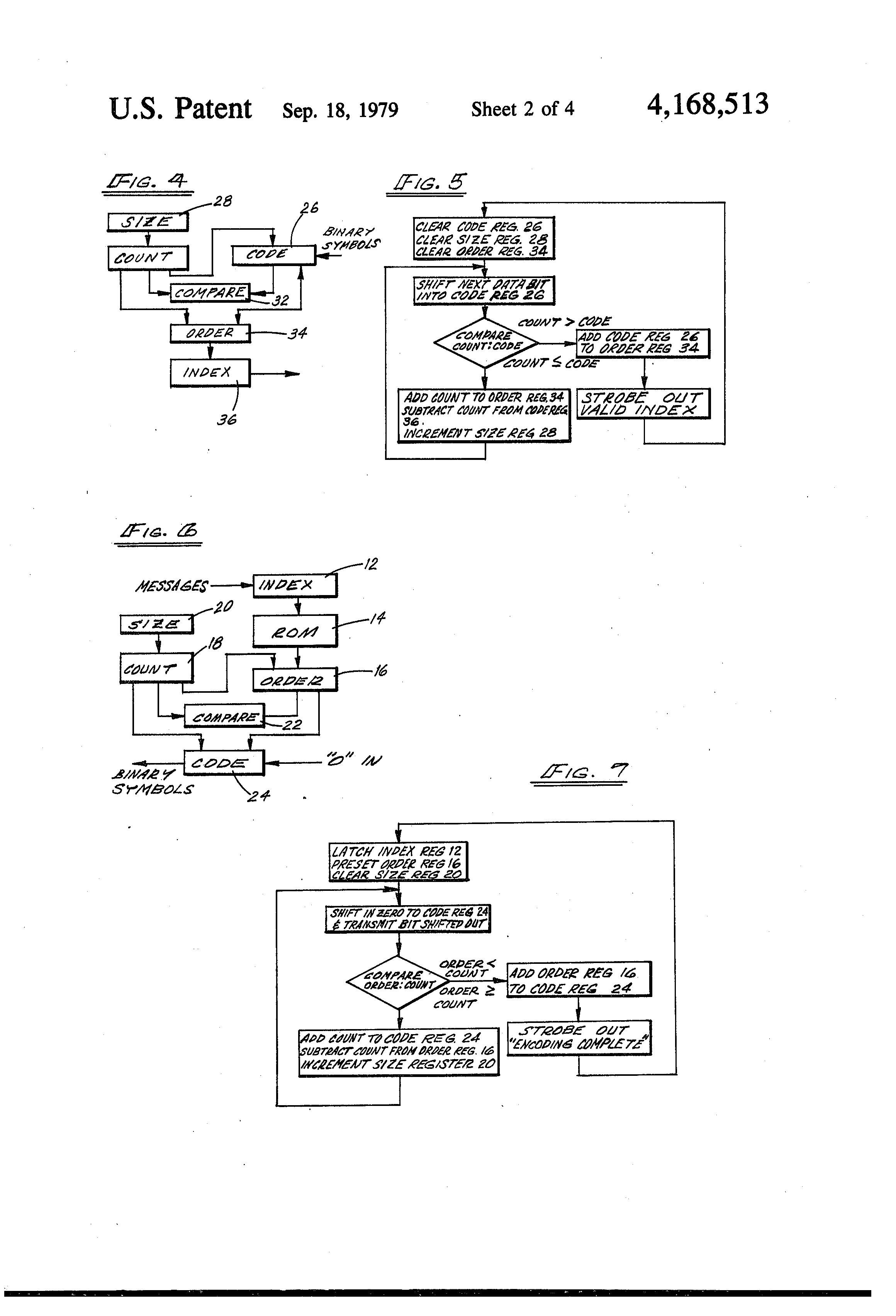 Patent Us4168513 Regenerative Decoding Of Binary Data Using