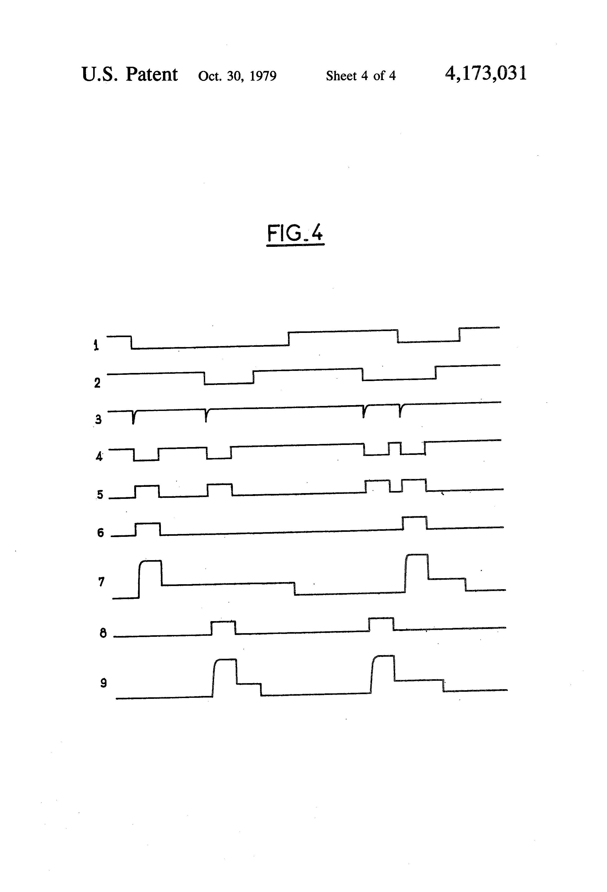 Patent Us4173031 Solenoid Valve Current Programme Control Device These Voltage And Waveforms From The Figure 1 Circuit Drawing
