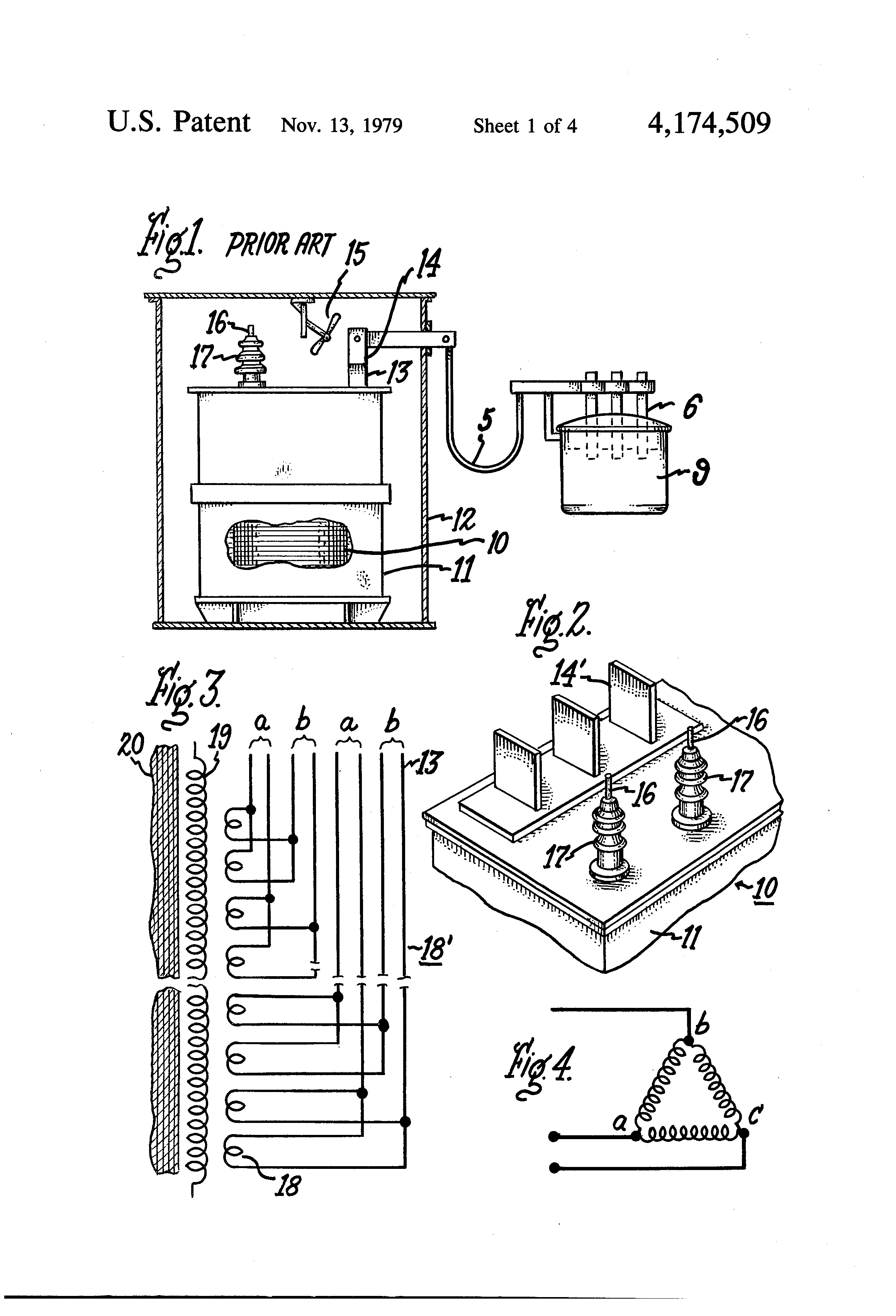 US4174509 1 patent us4174509 furnace transformer having a low voltage eim actuator wiring diagram at webbmarketing.co
