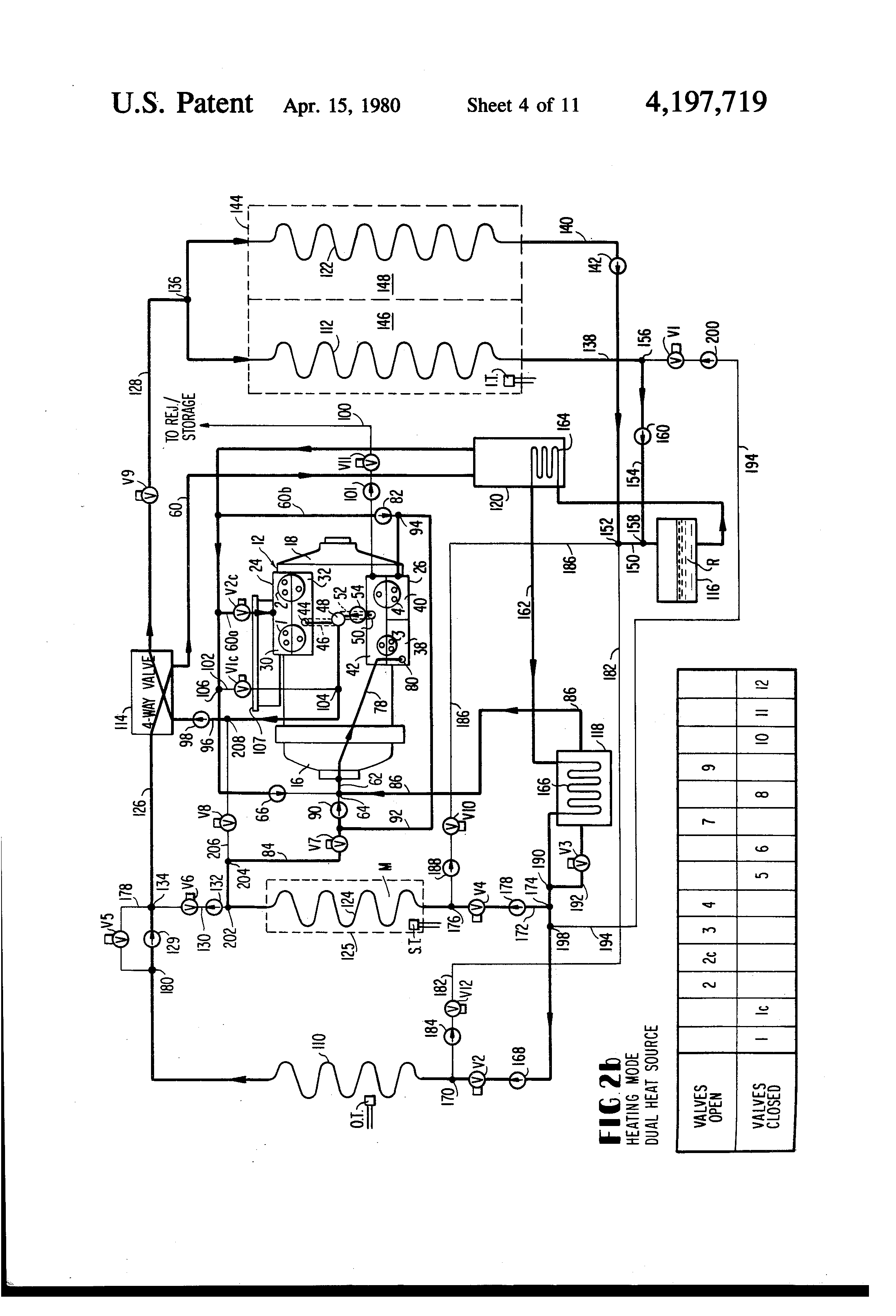 Trane Heat Pump Parts Diagram further Nma Tnd1QtHDUtPdm besides US4197719 moreover This Is Important The Wiring Diagram Shown On besides Heat Pump Refrigerant Circuit Diagram. on heat pump reversing valve