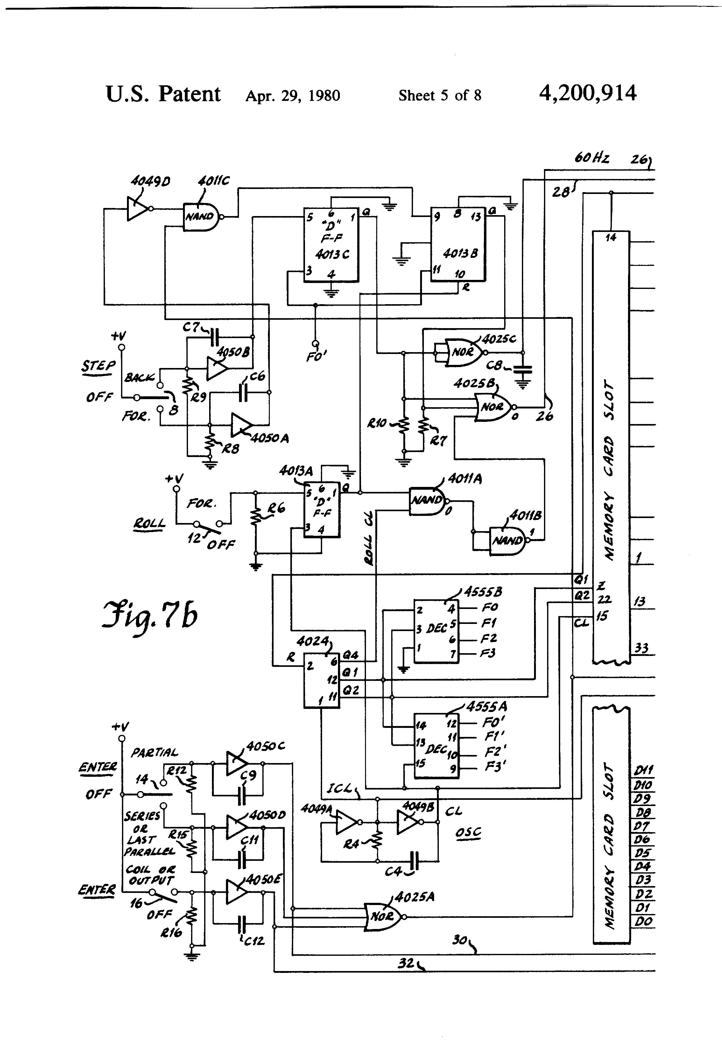 patent us4200914