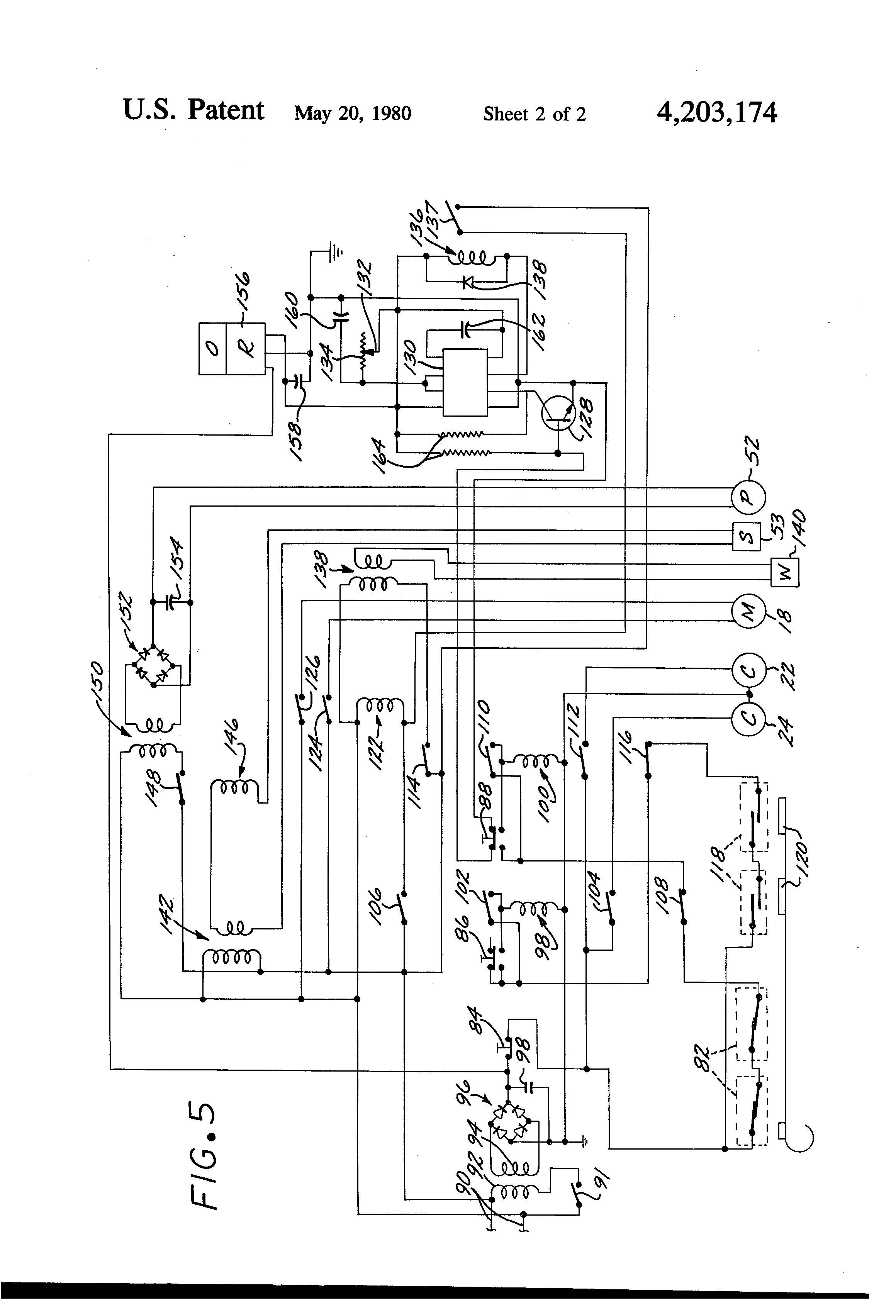 patent us4203174 automatic swimming pool cover and cover washer patent drawing