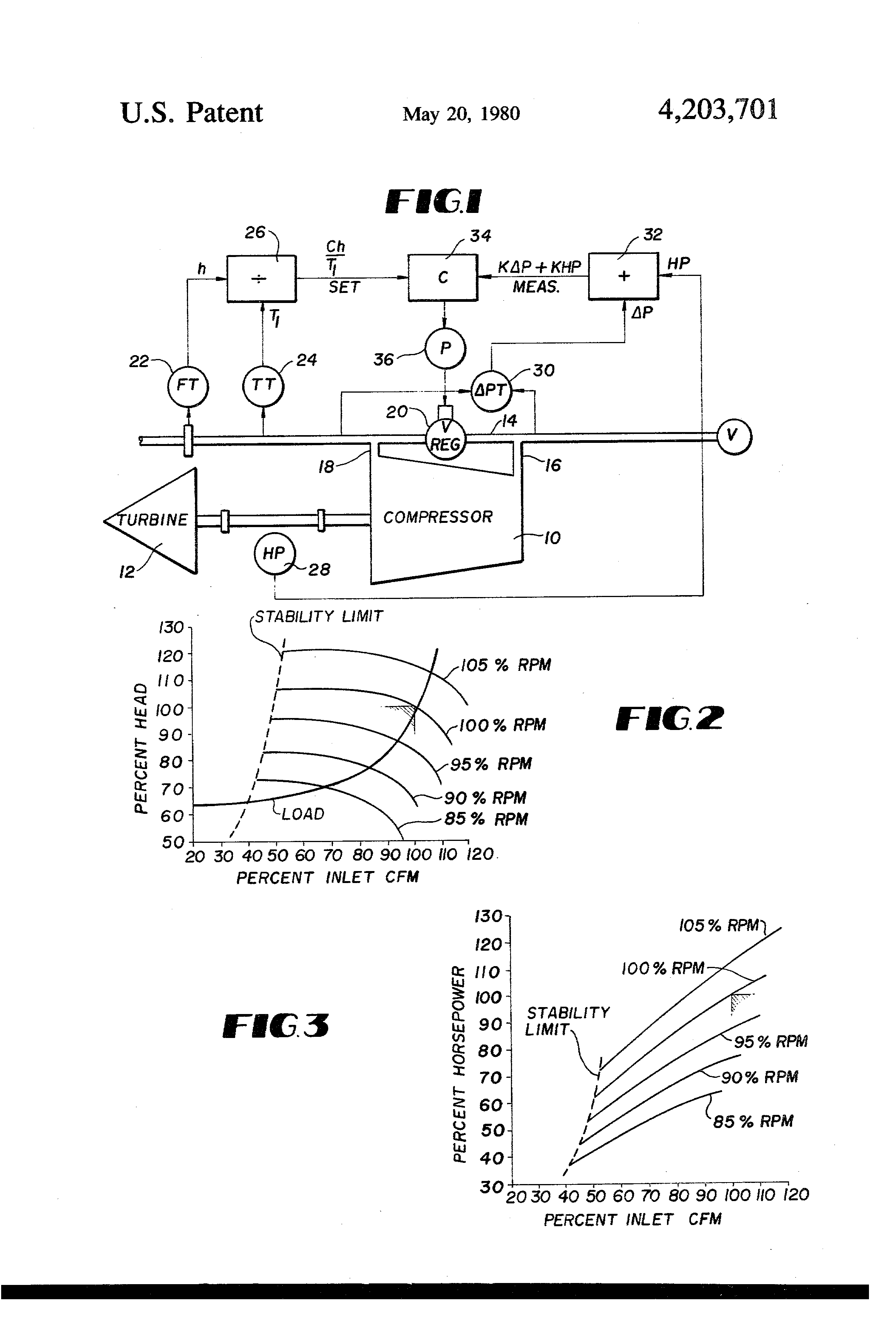 patent us4203701 surge control for centrifugal compressorsControl System For Controlling Multiple Compressors Google Patents #8