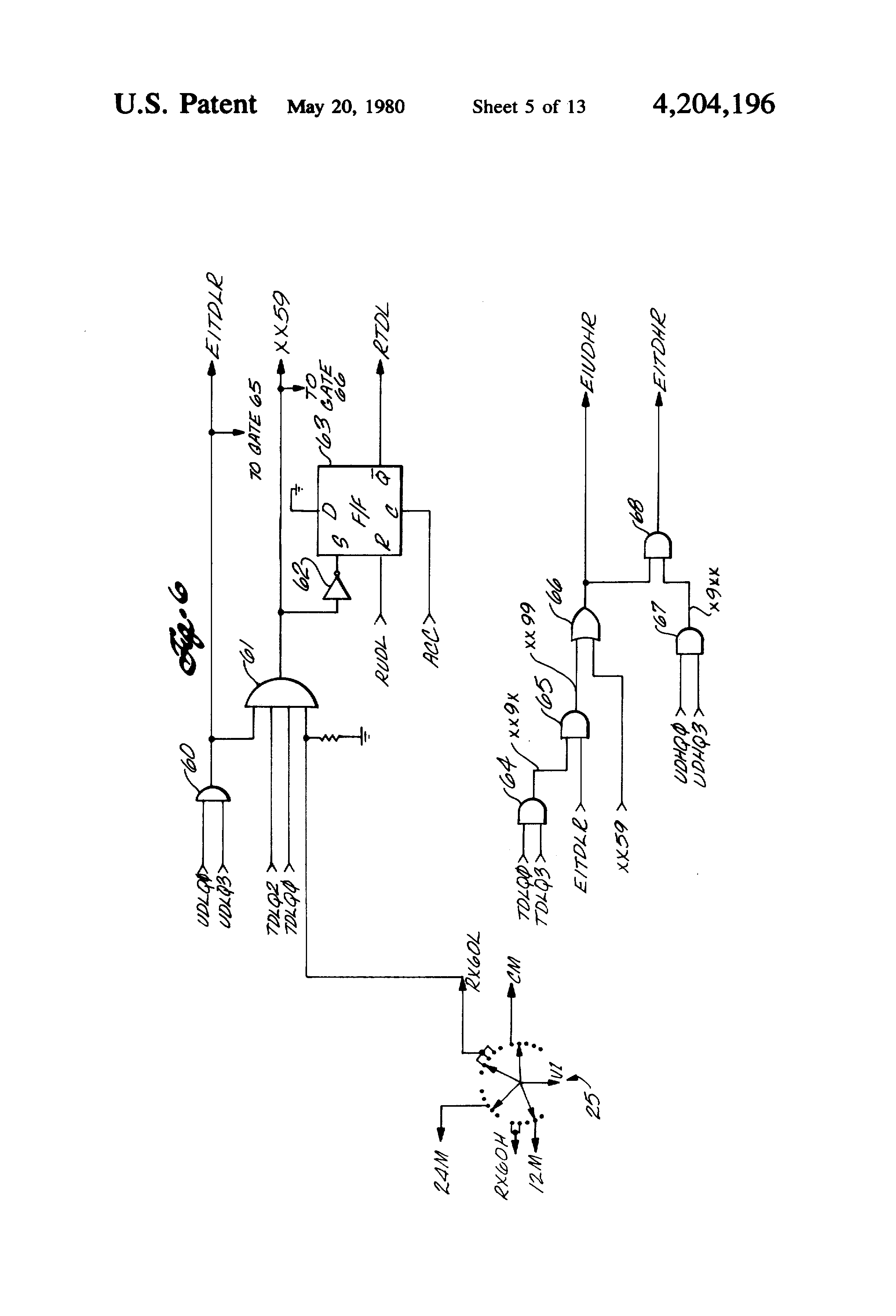 patent us4204196 - modular electronic timer