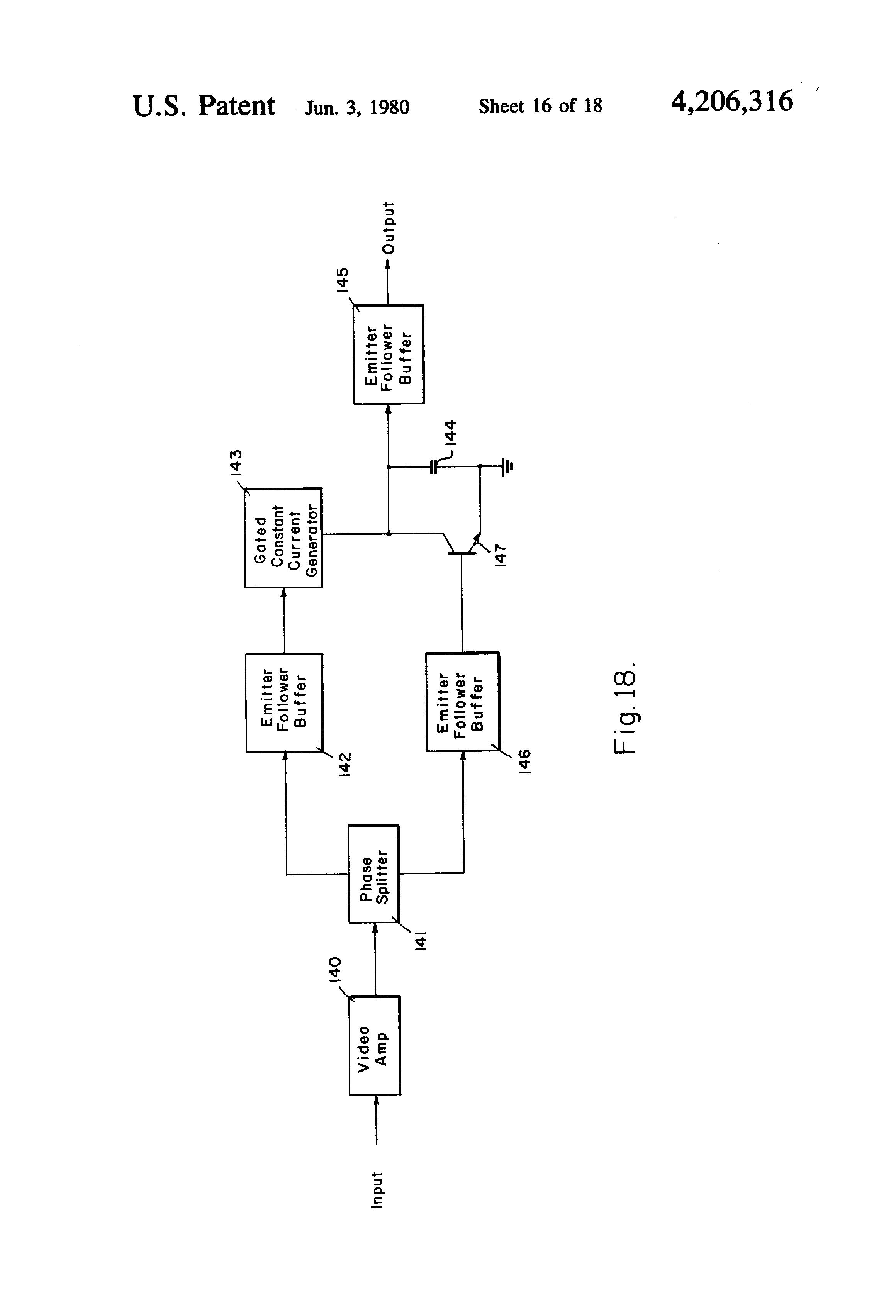 Patent Us4206316 Transmitter Receiver System Utilizing Pulse Constantcurrent Generator Drawing