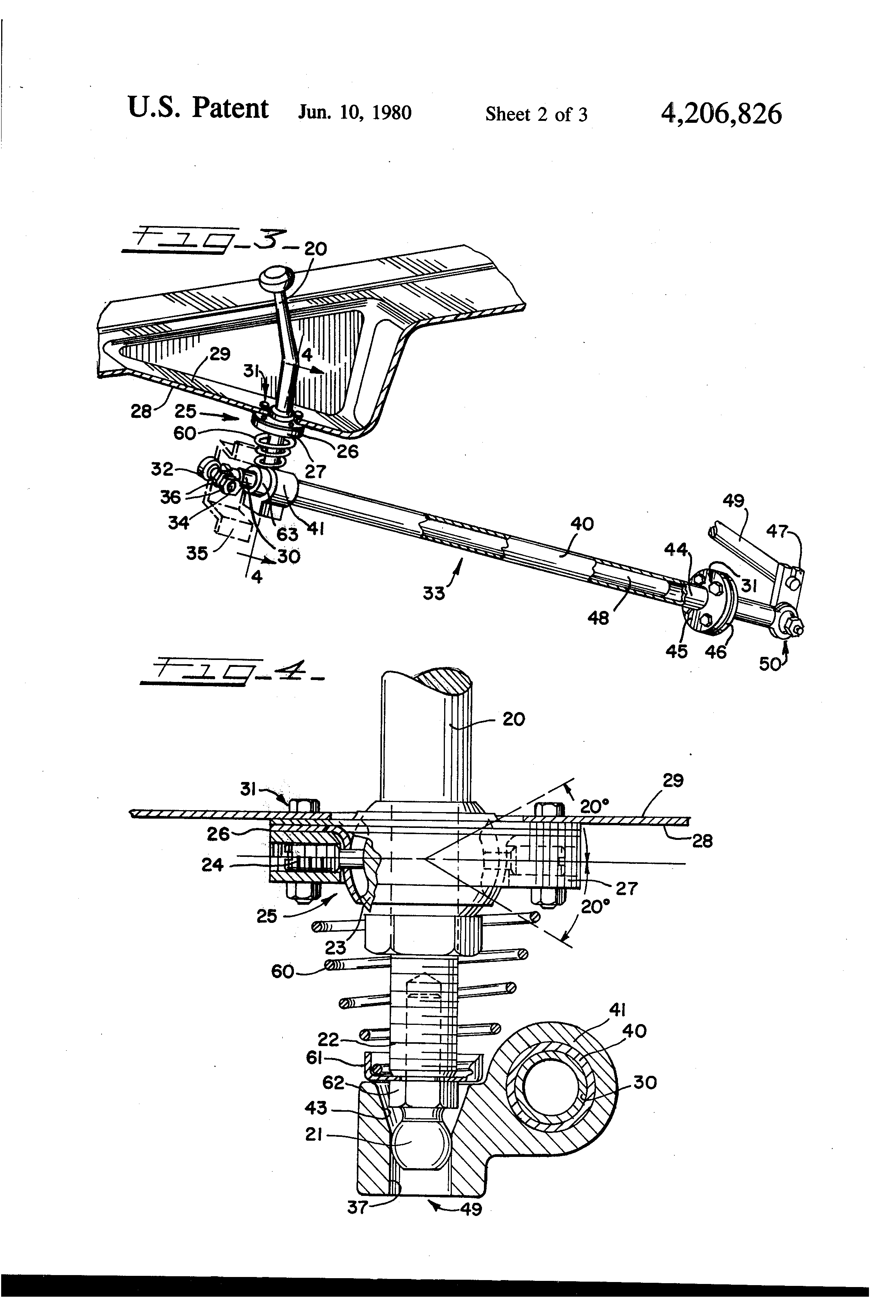 cabover shift linkage