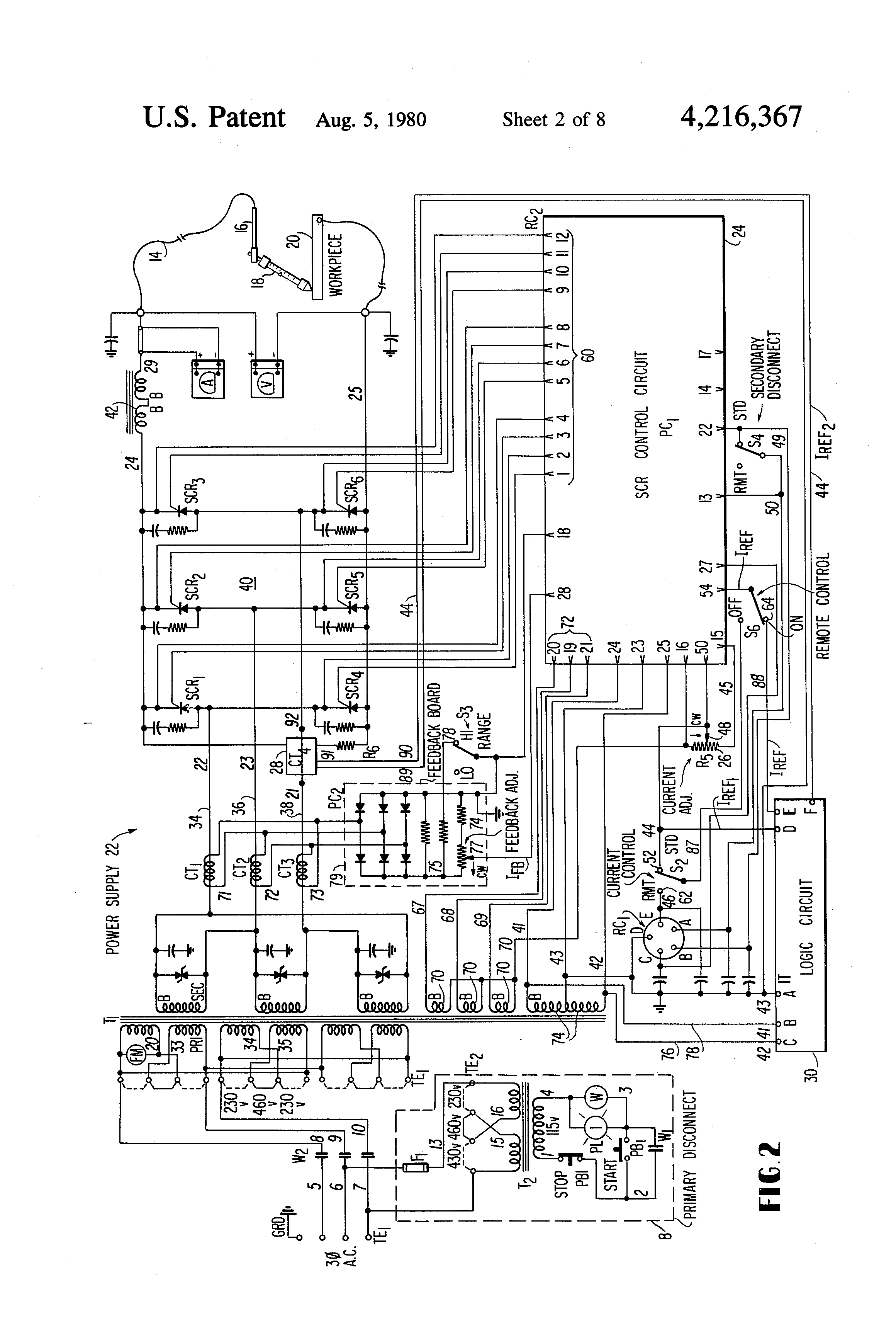 lincoln welder remote wiring diagram