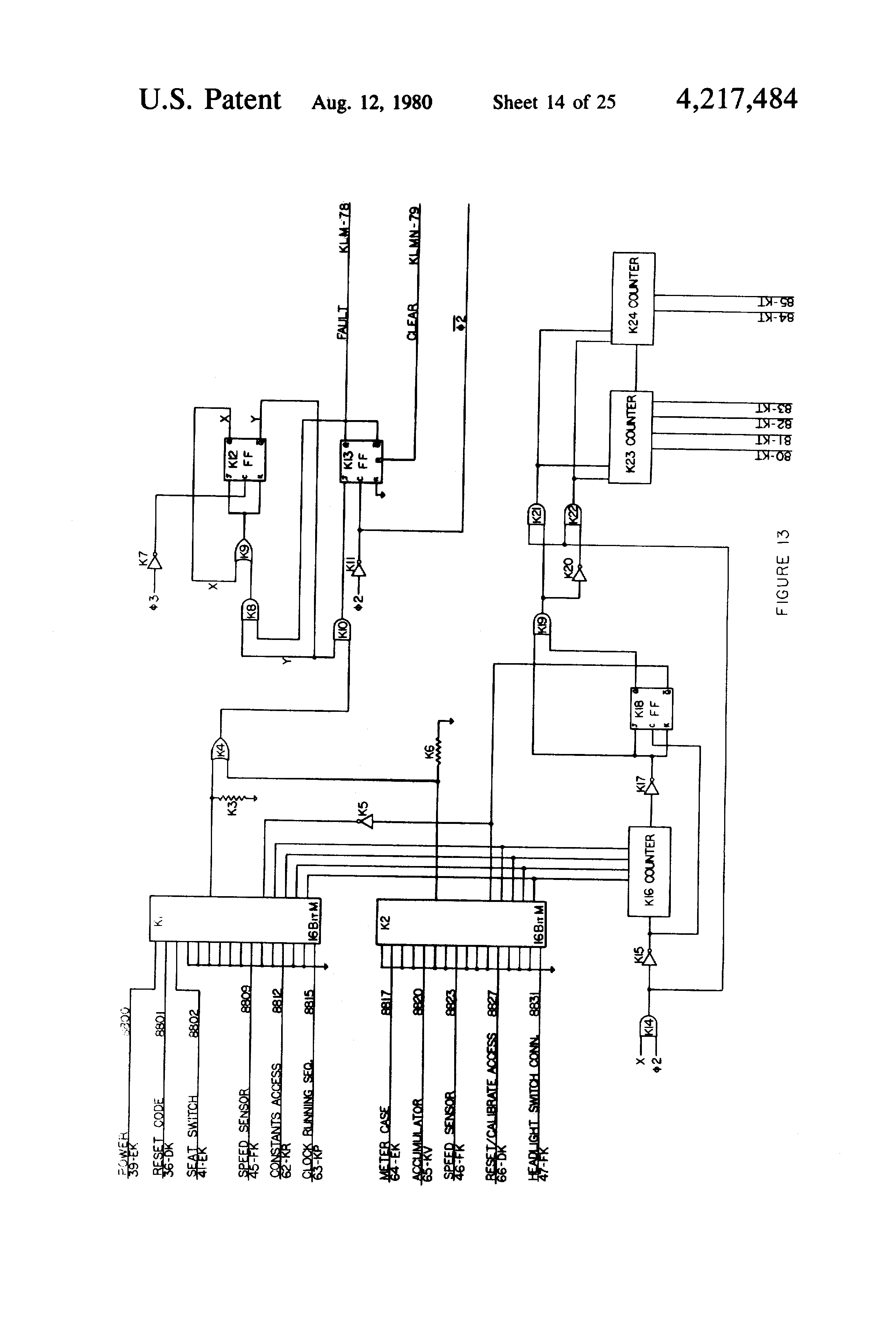 US4217484 14 patent us4217484 taximeter google patents warrick controls wiring diagrams at gsmx.co