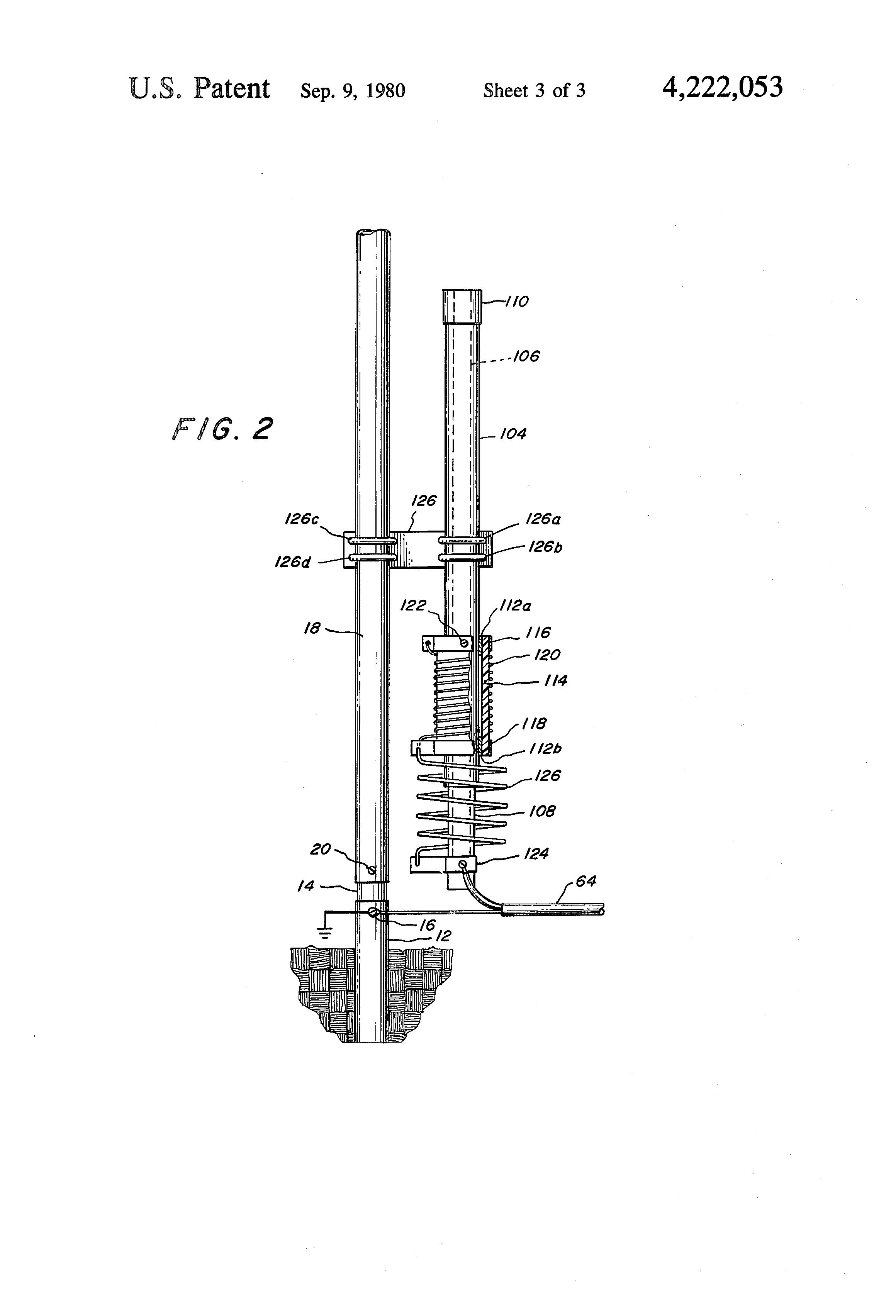 patent us4222053 - multi-band vertical antenna