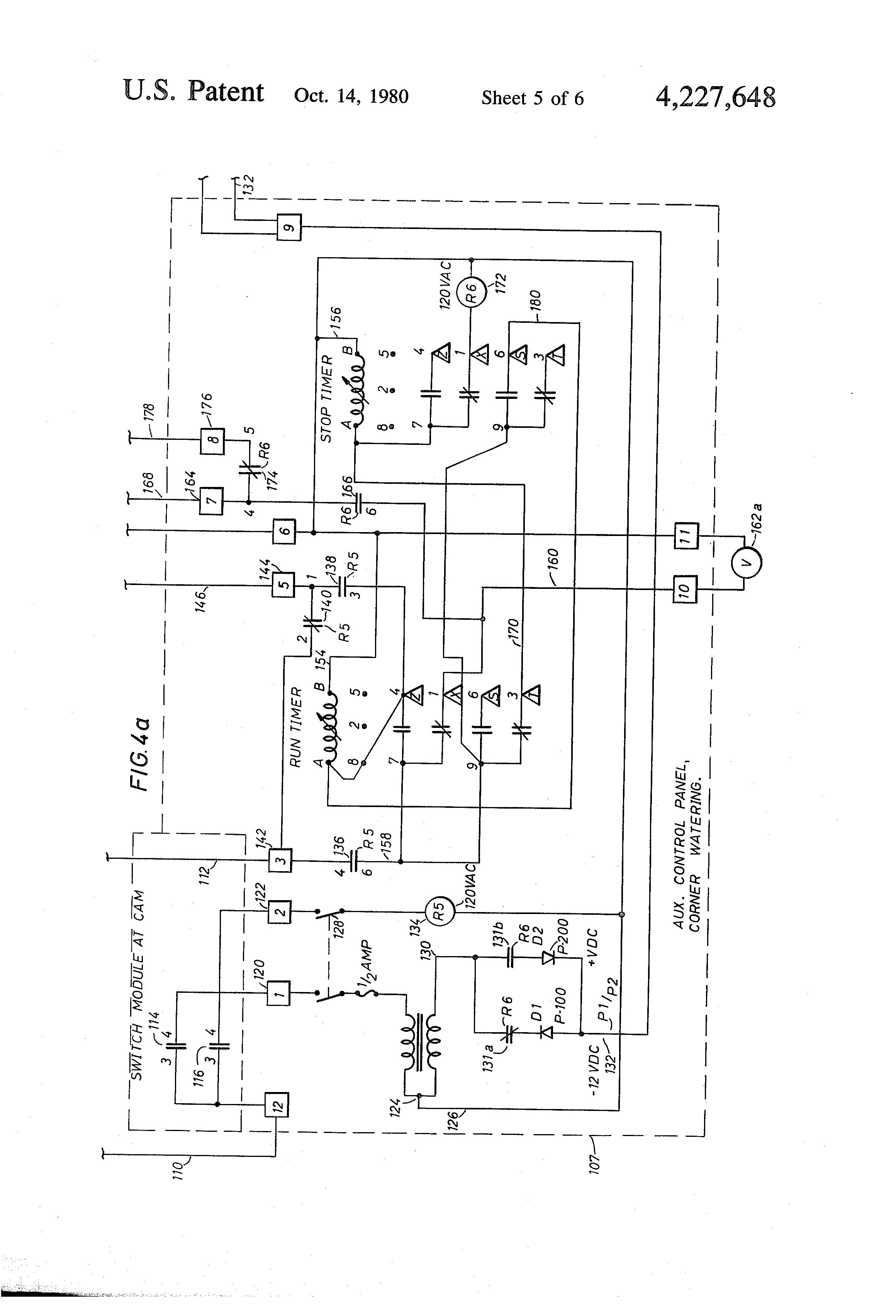 Reinke Irrigation Wiring Diagram Detailed Diagrams System Patent Us4227648 Center Pivot Having Apparatus Control Box