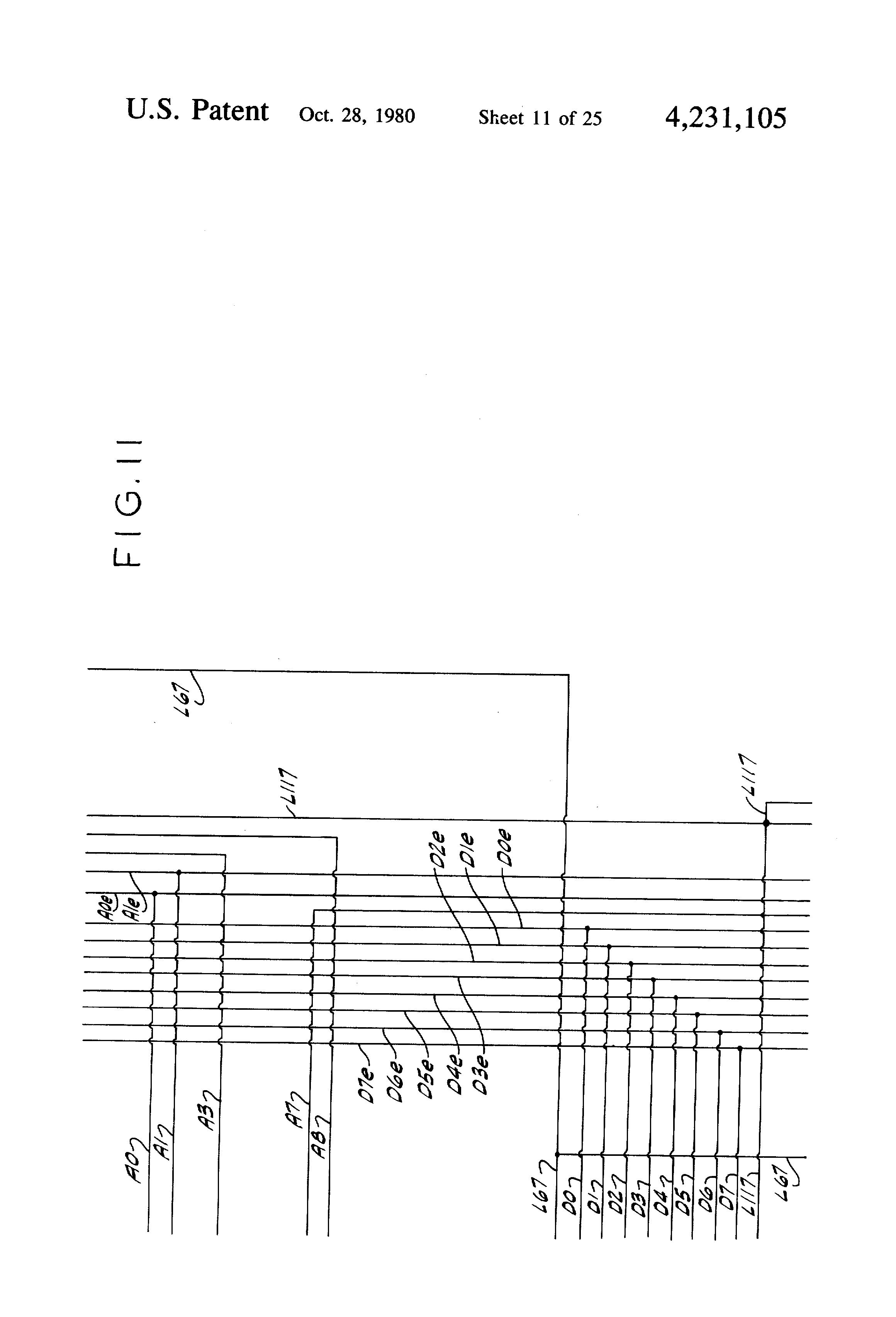 patent us4231105 - vendor control circuit