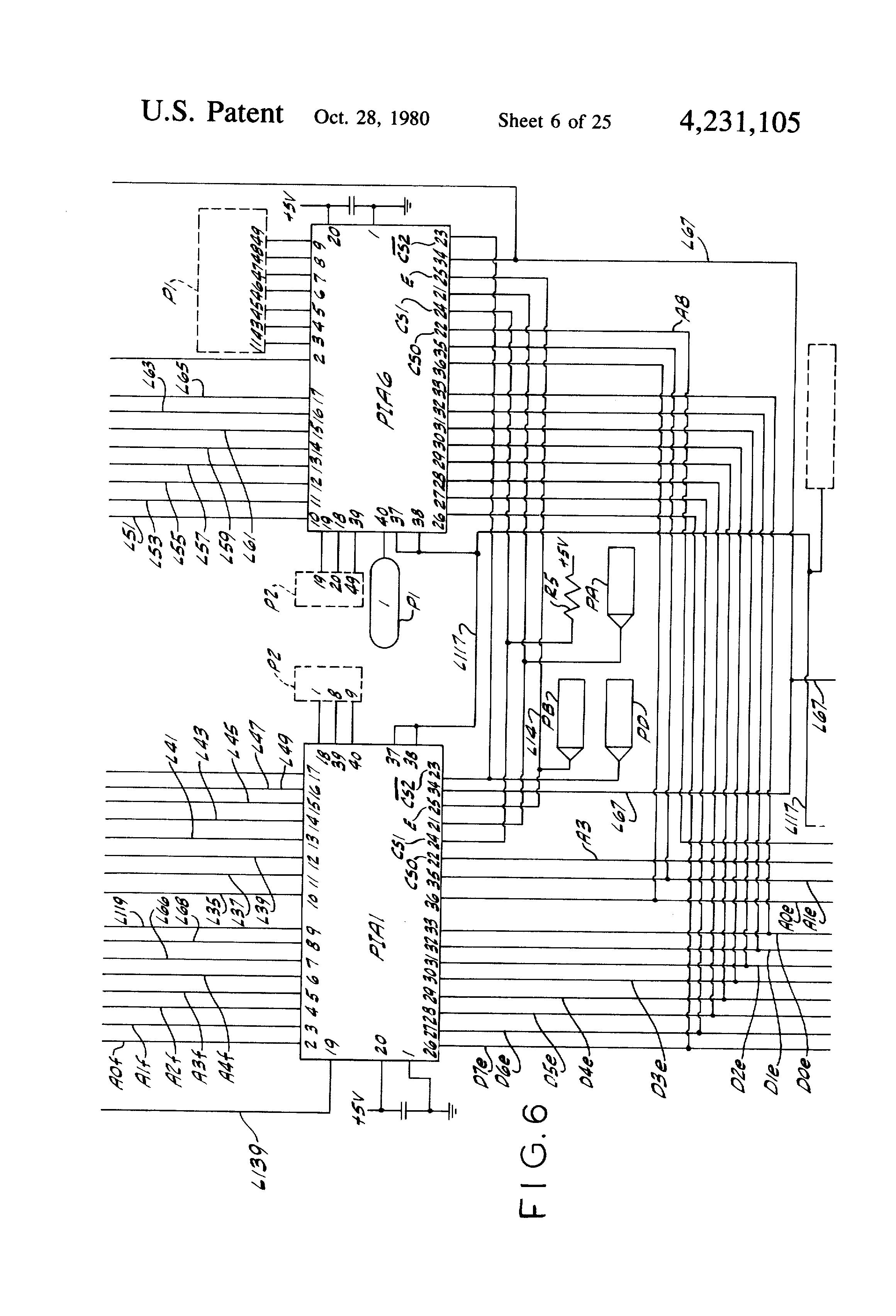 Patent Us4231105 Vendor Control Circuit Google Patents D010 Led Driver Wiring Diagram Drawing