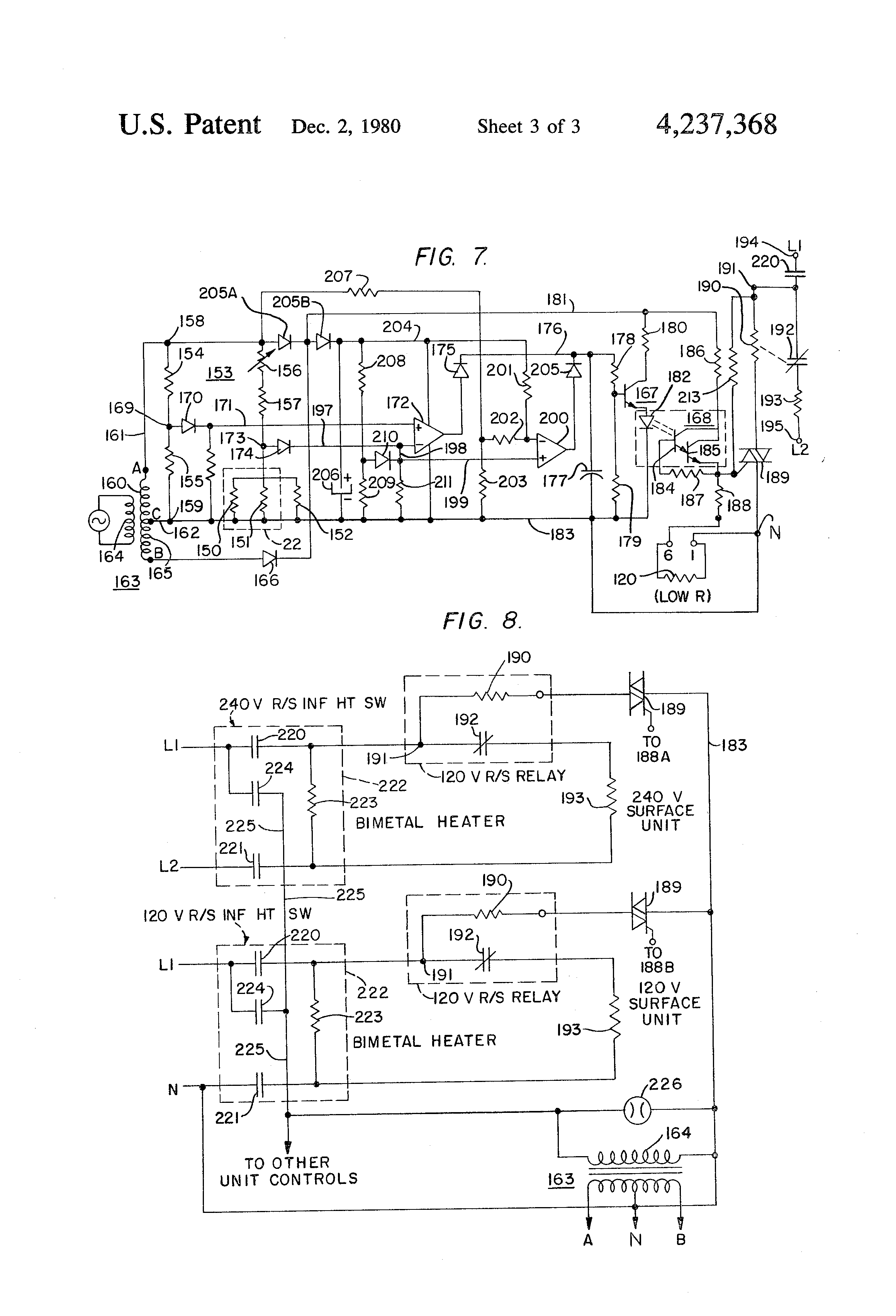 US4237368 3 cooktop wiring diagram multi phone lines wiring diagram \u2022 free westinghouse wiring diagram at bakdesigns.co