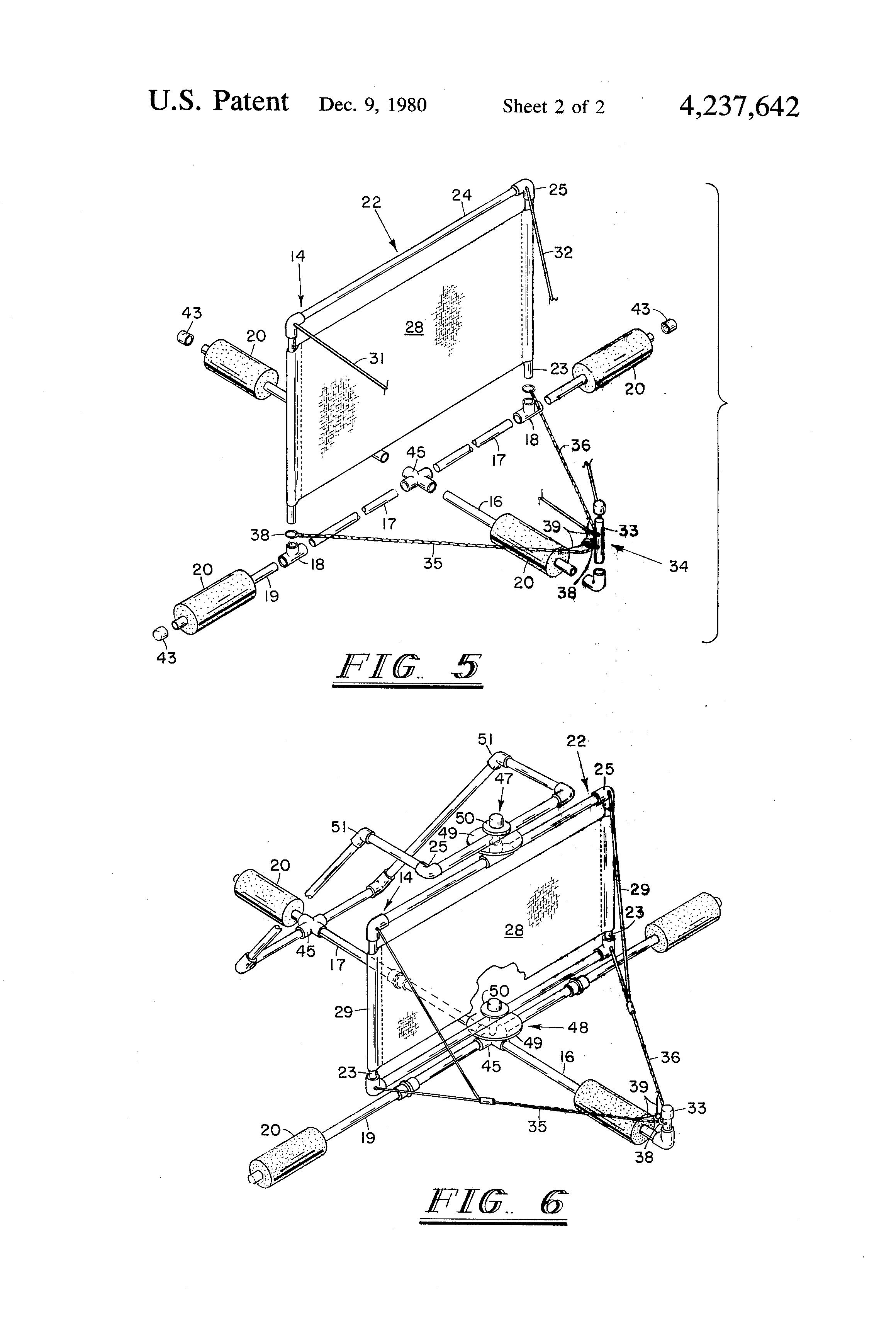 Patent Us4237642 Sailing Trotline Google Patents