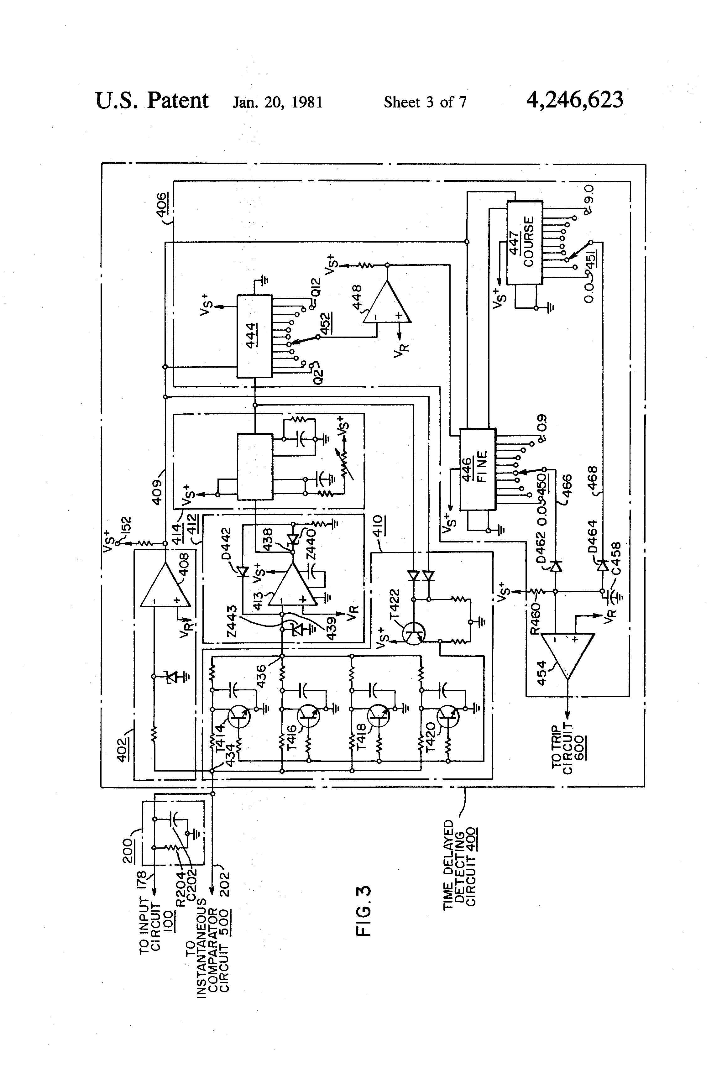 patent us4246623 - protective relay device